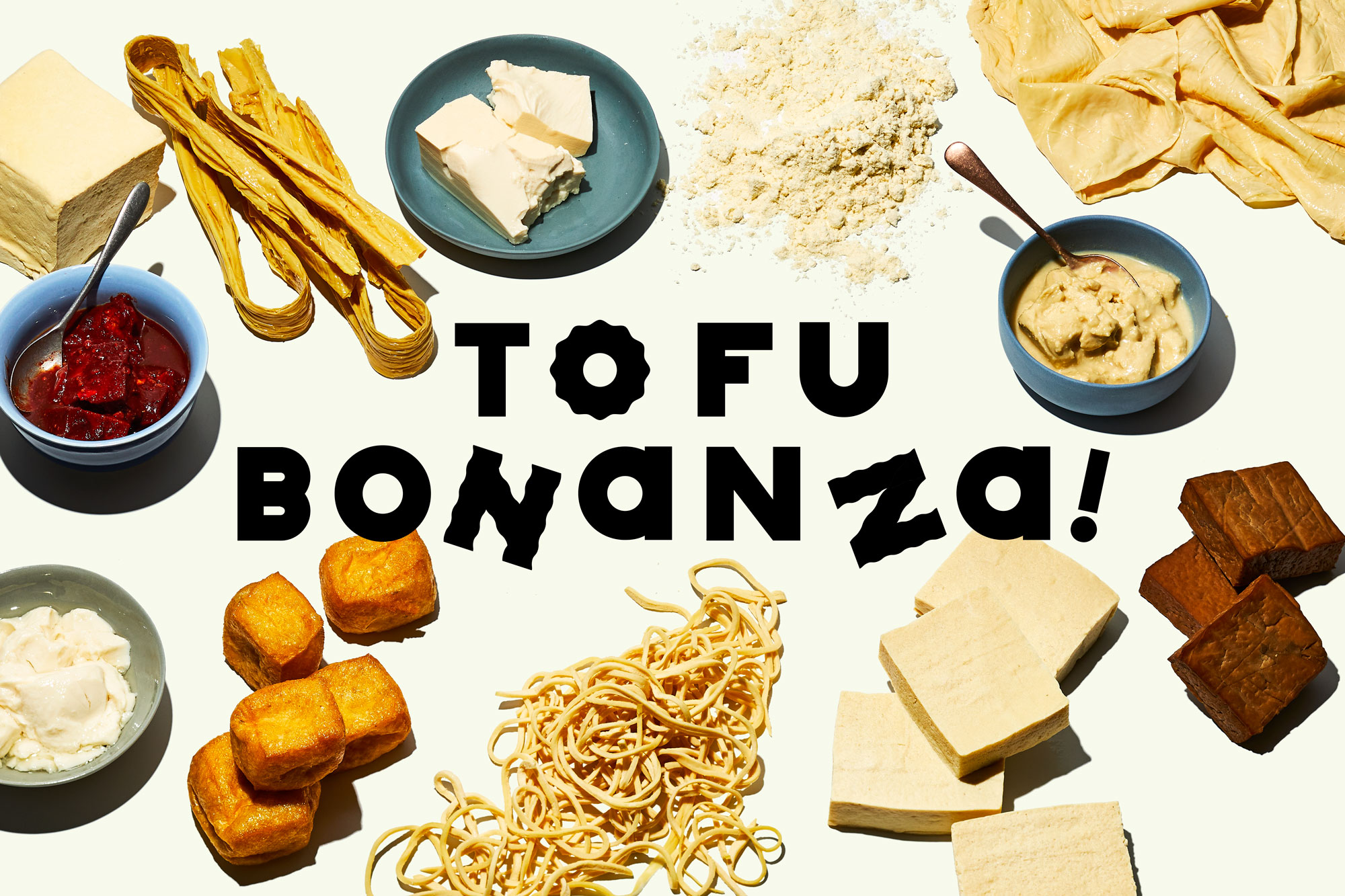 different types of tofu