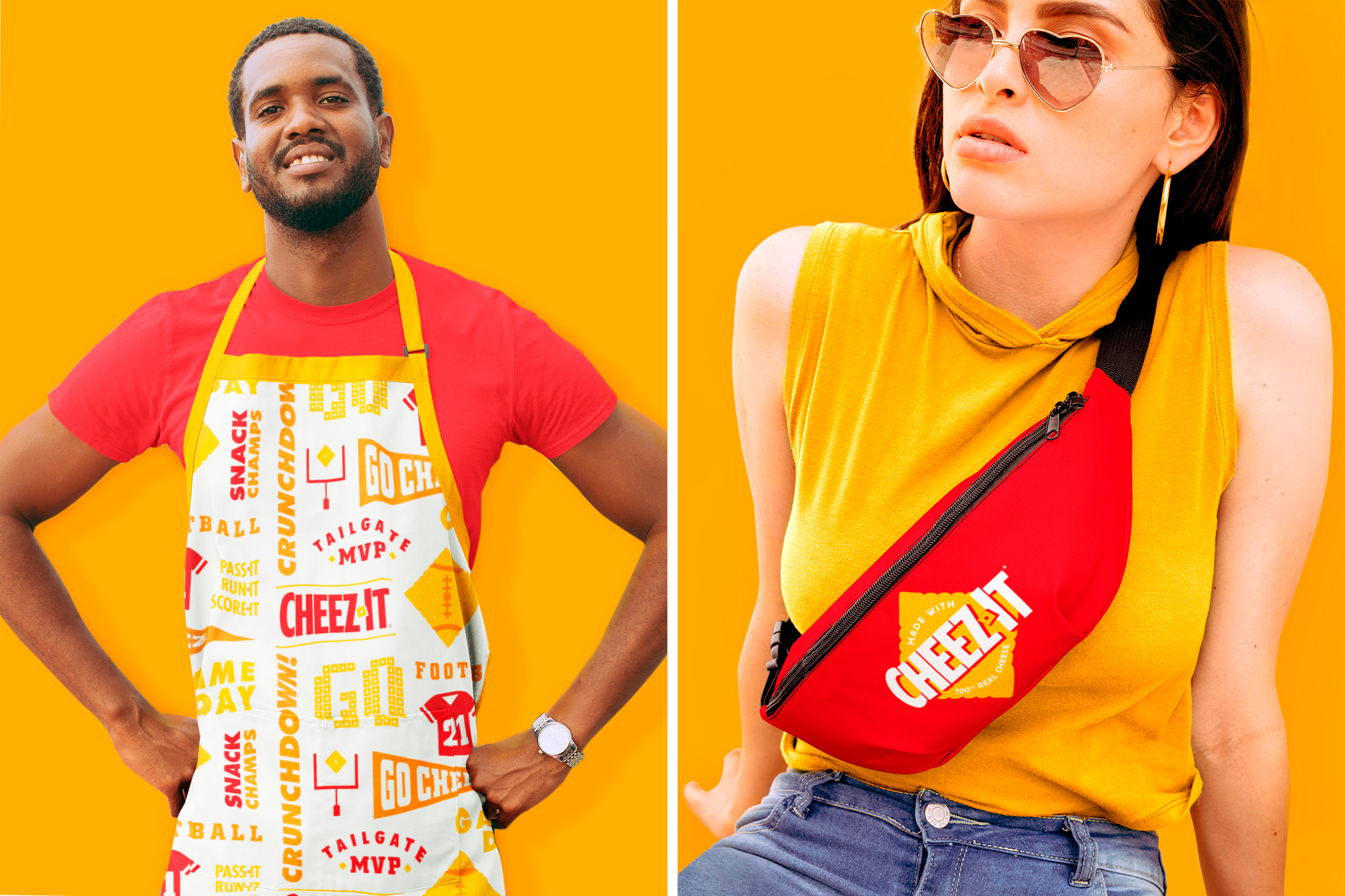 Cheez-It Apron and Fanny Pack