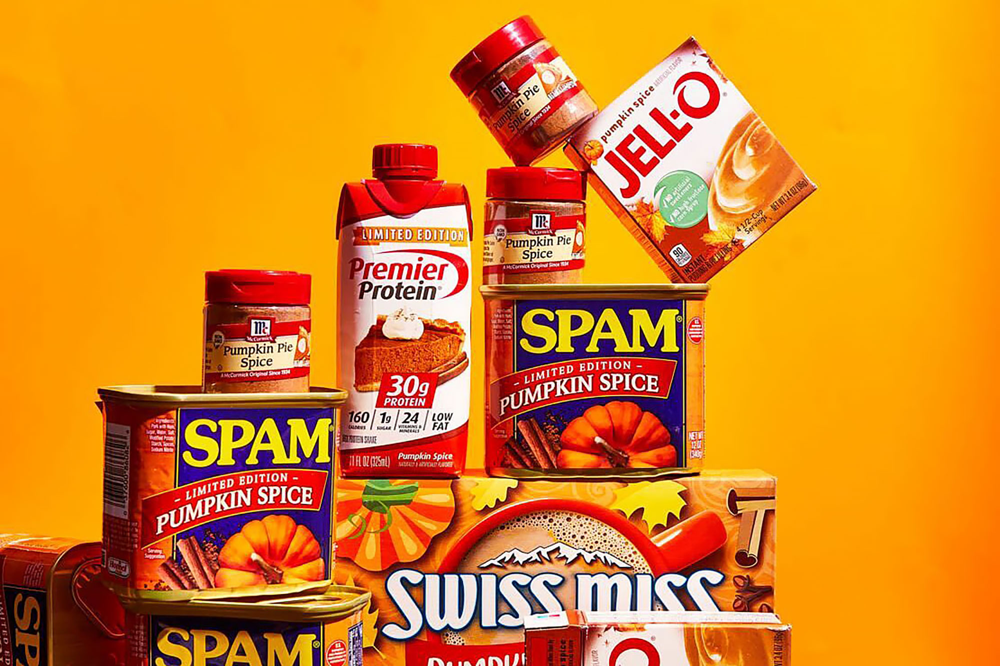 Pumpkin Spice-flavored grocery items