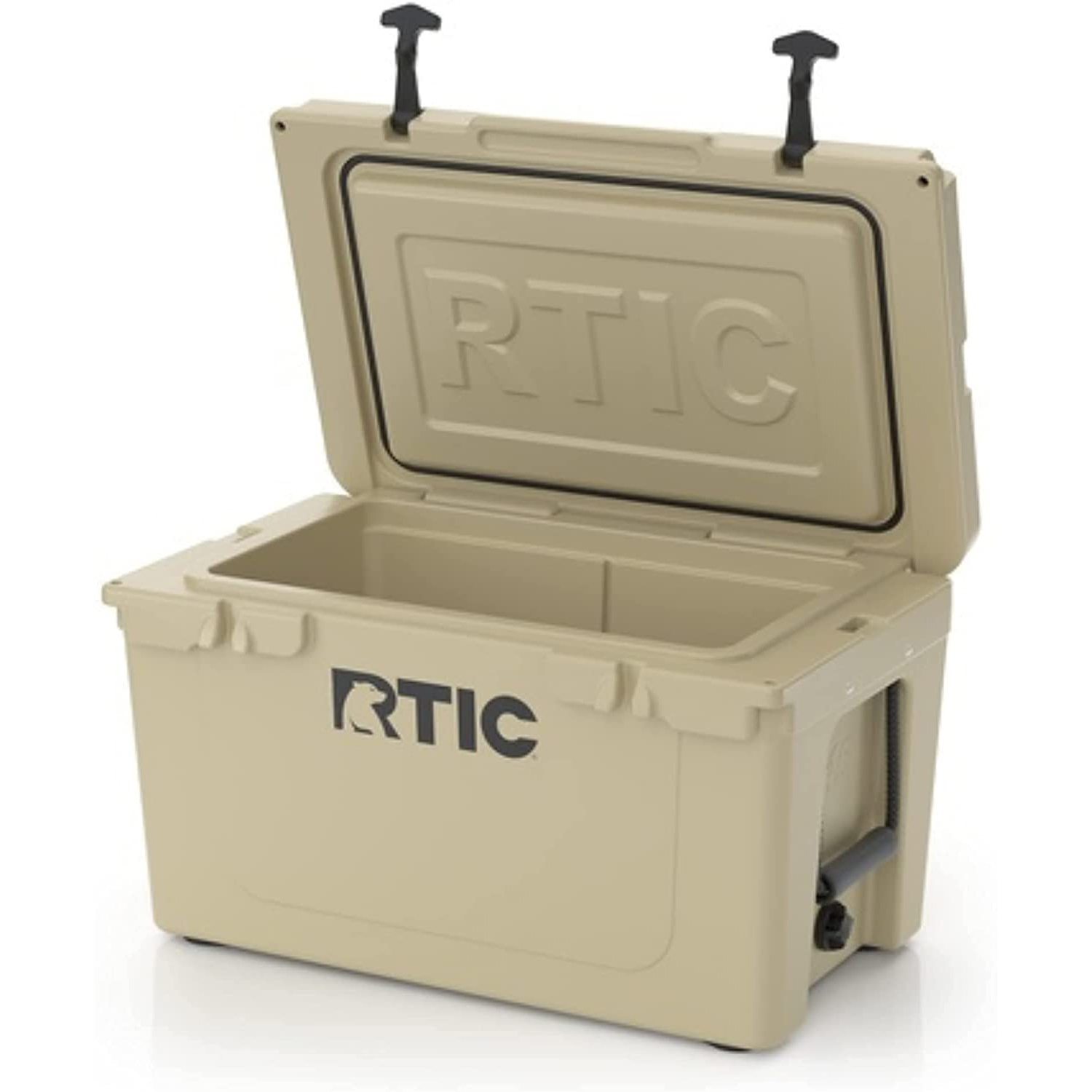 RTIC Hard Cooler, Ice Chest with Heavy Duty Rubber Latches
