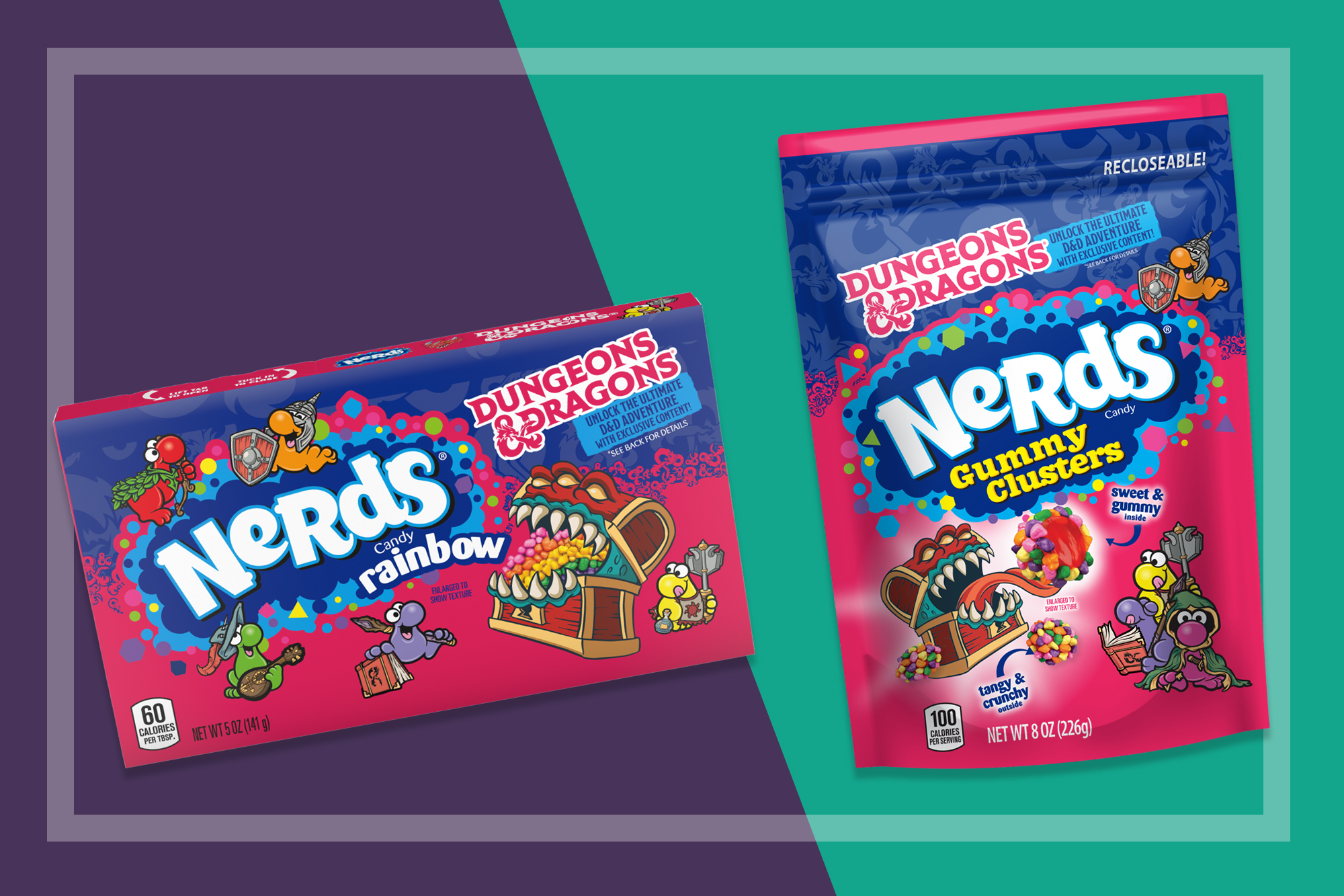 NERDS Candy and NERDS Gummy Clusters