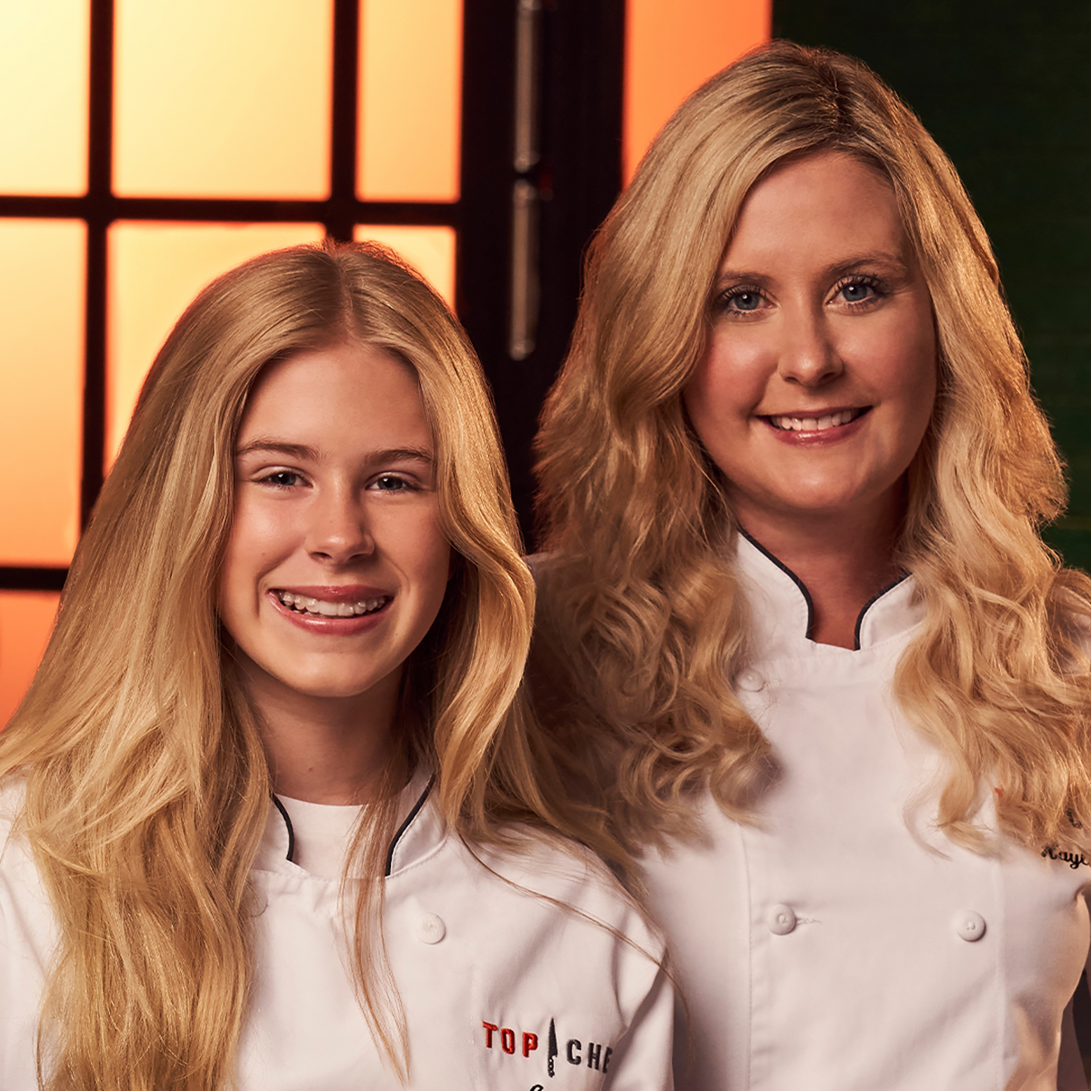 Top Chef Family Style contestants Ainsley and Hayley Crouse
