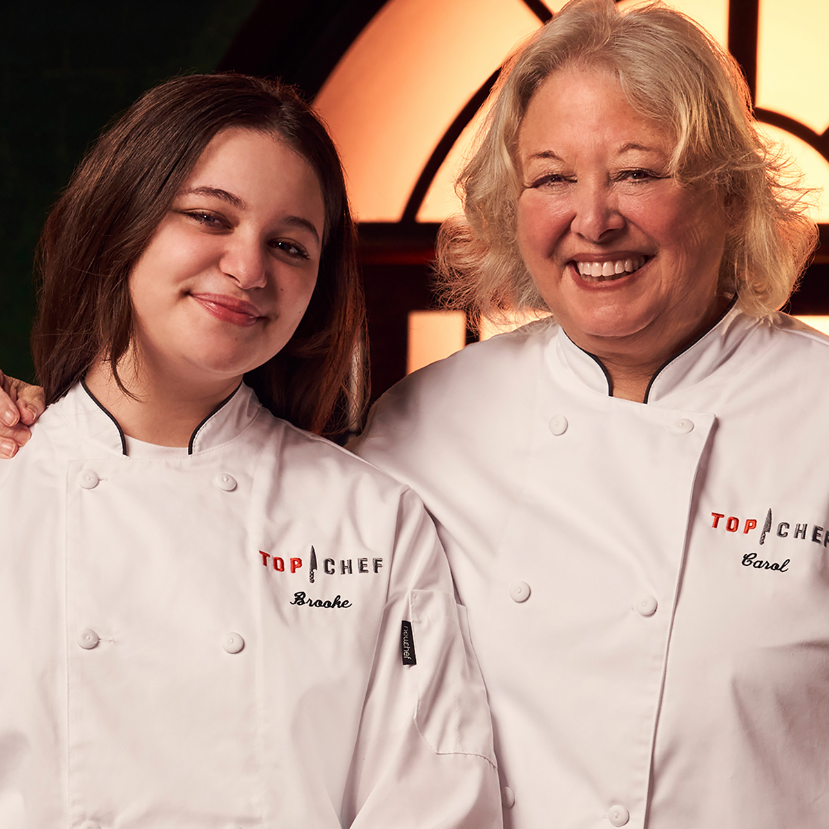 Top Chef Family Style contestants Brooke Nathanson and Carol Weiss