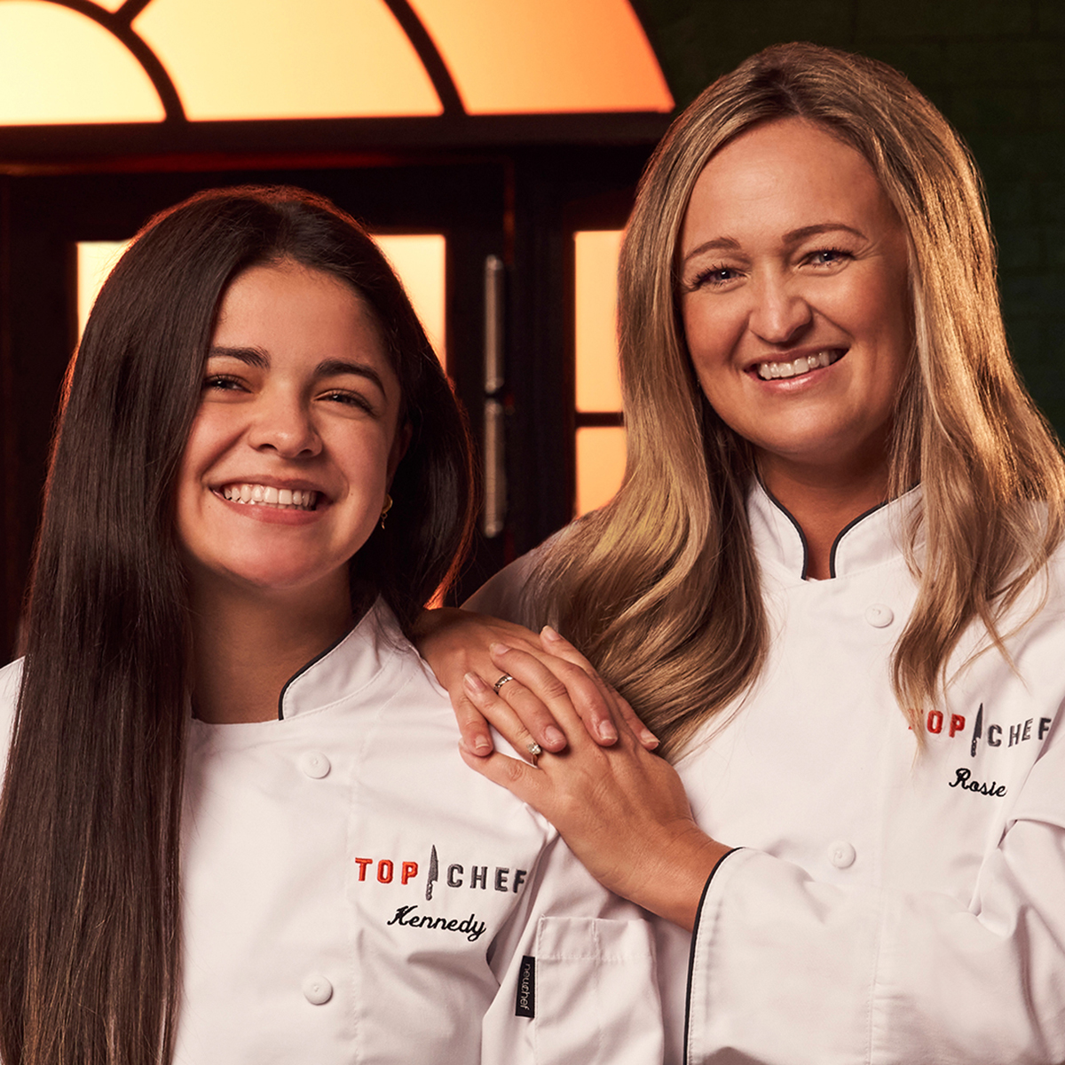 Top Chef Family Style contestants Kennedy and Rosie Torres