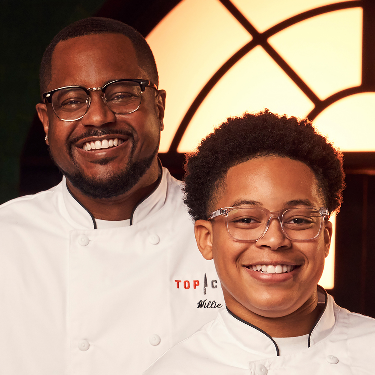 Top Chef Family Style contestants Willie and Khalil Blue
