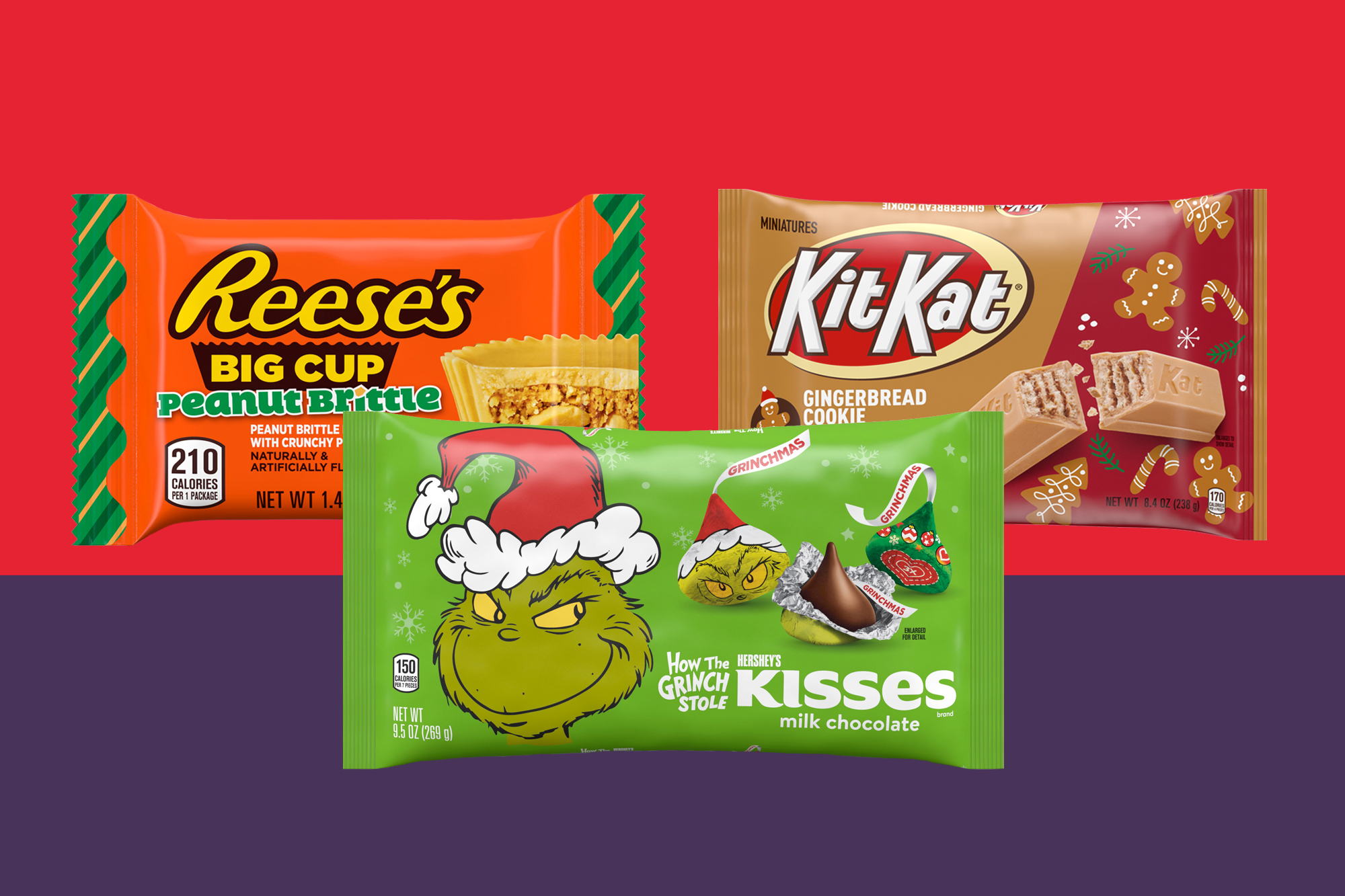 Hershey's holiday candy