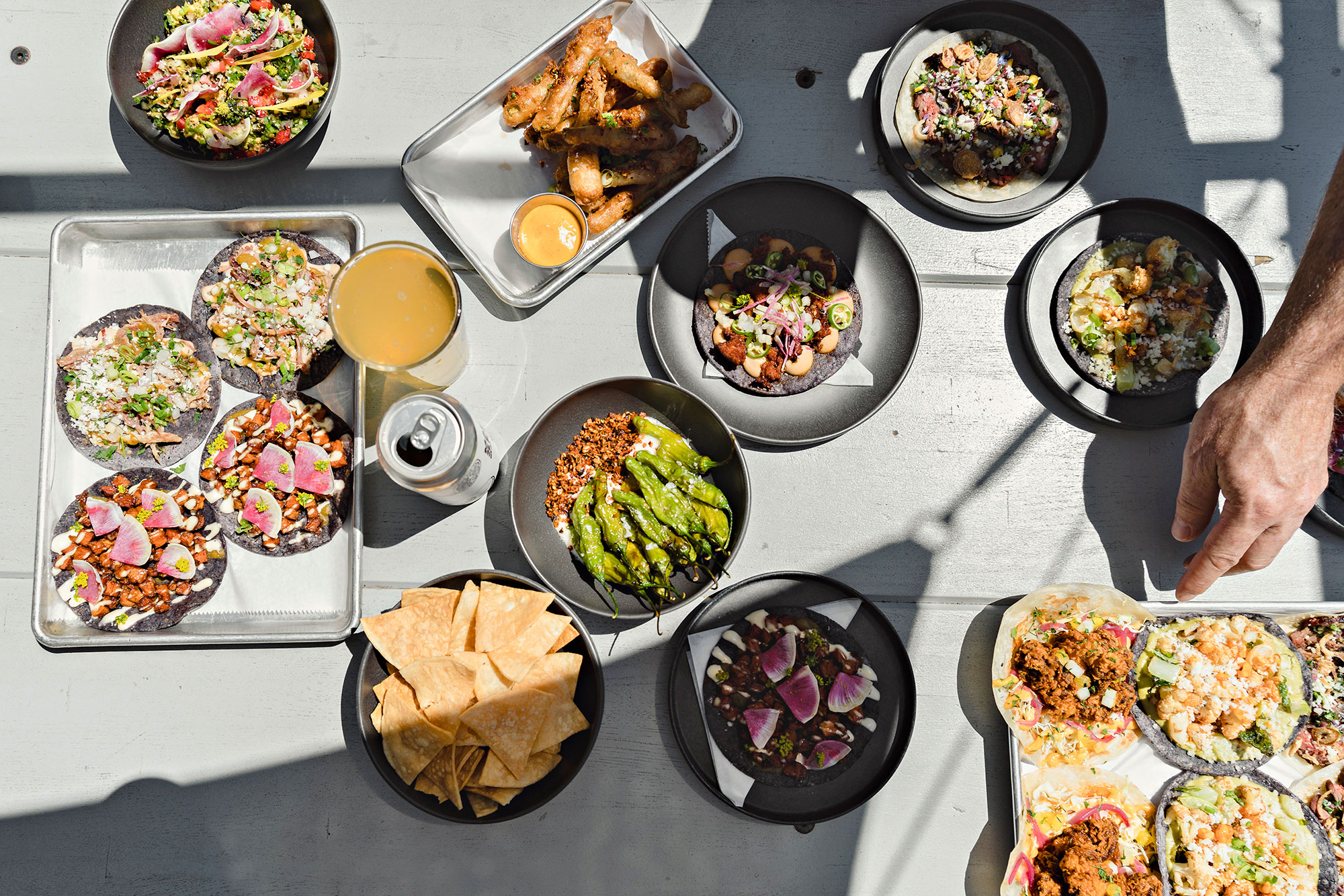 Taco Party's mexican dishes