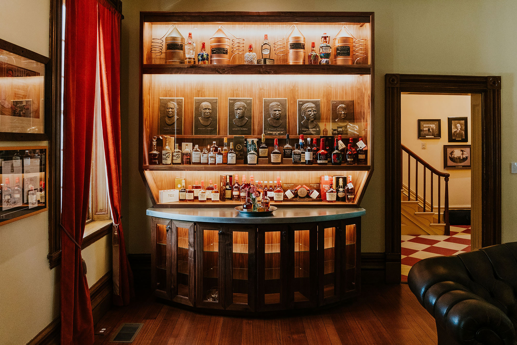 Bar at the The Samuels House