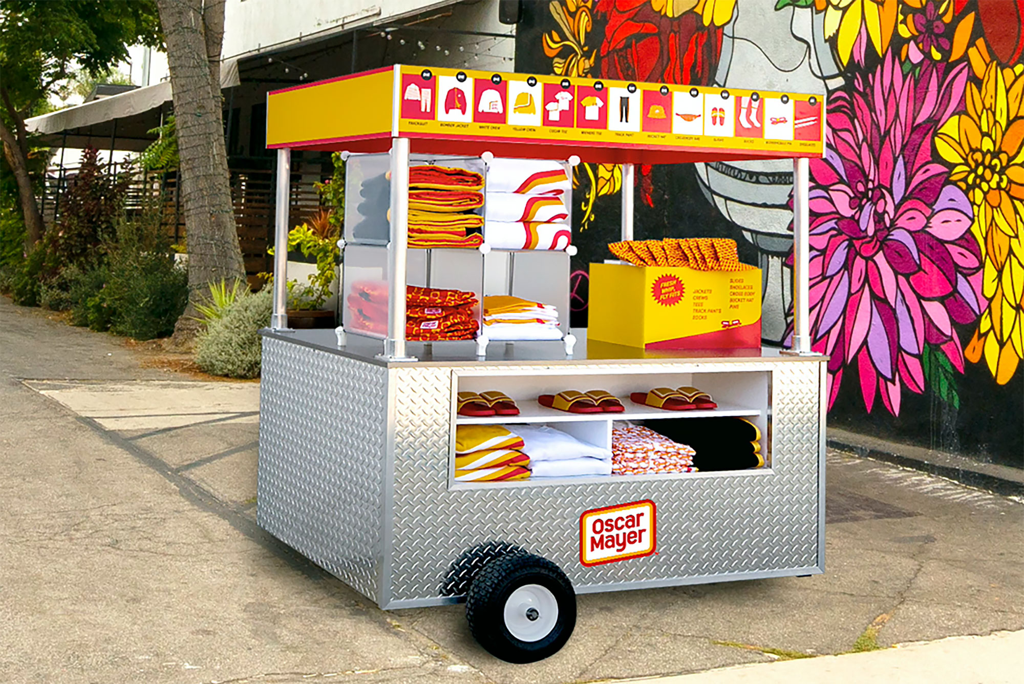 Oscar Mayer Street Meat capsule collection cart