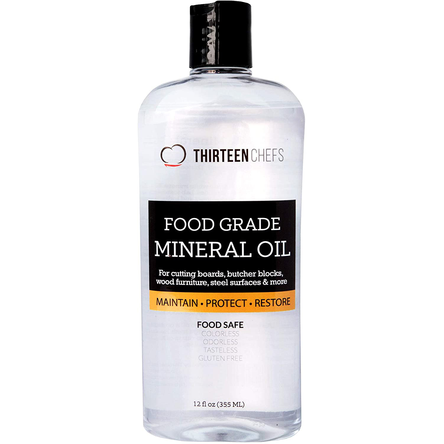 CuttingBoard Food Grade Mineral Oil for Cutting Boards, Countertops and Butcher Blocks