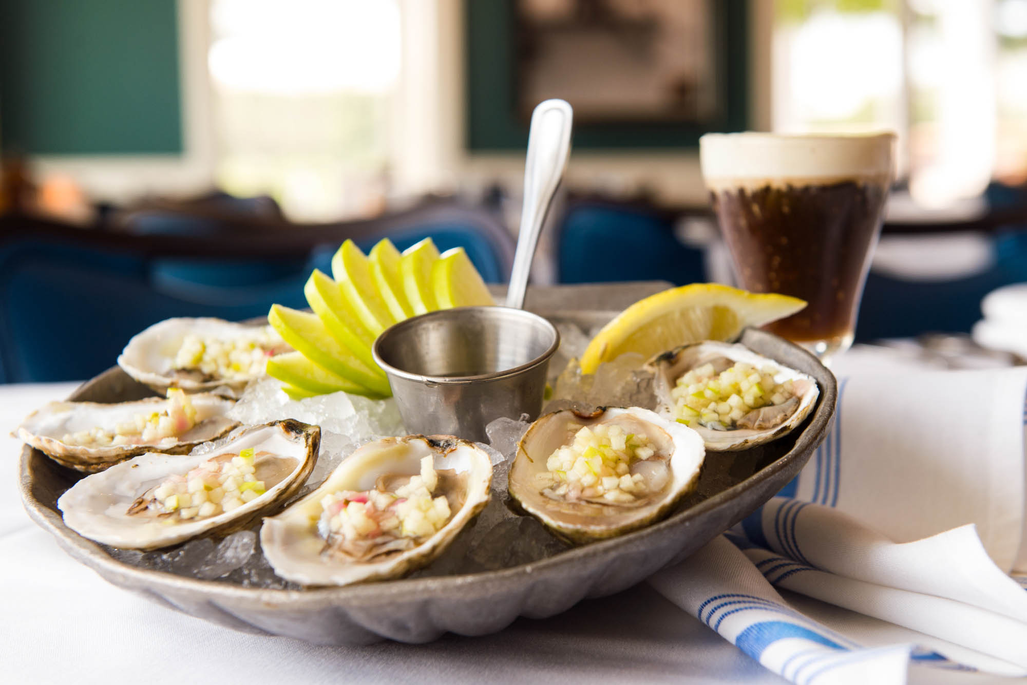 Oysters at The Boathouse at Disney