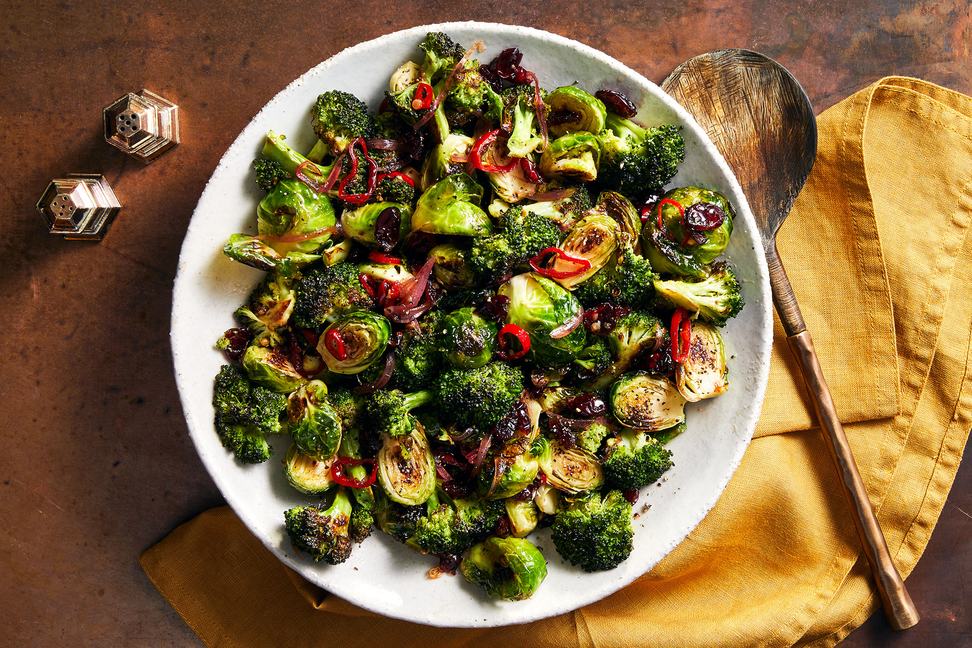 Brussels and Broccoli Agrodolce