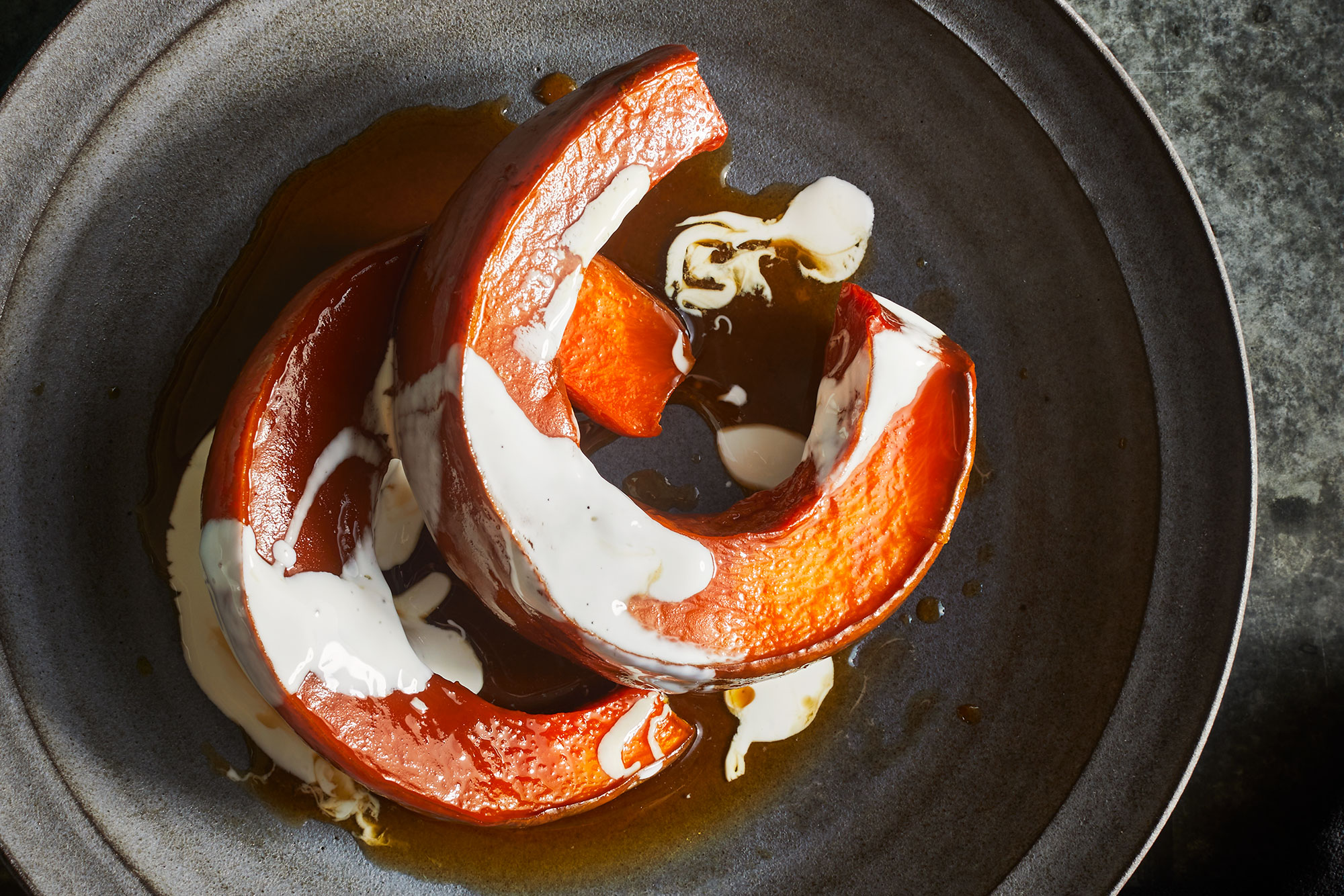 Candied Pumpkins with Piloncillo and Cinnamon