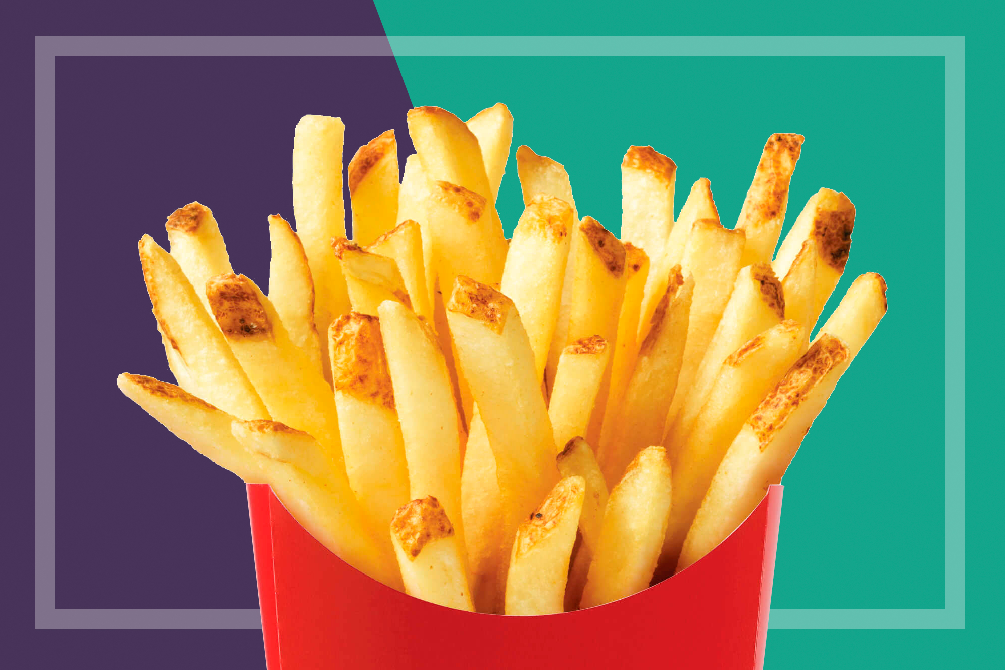 close-up of Wendy's fries