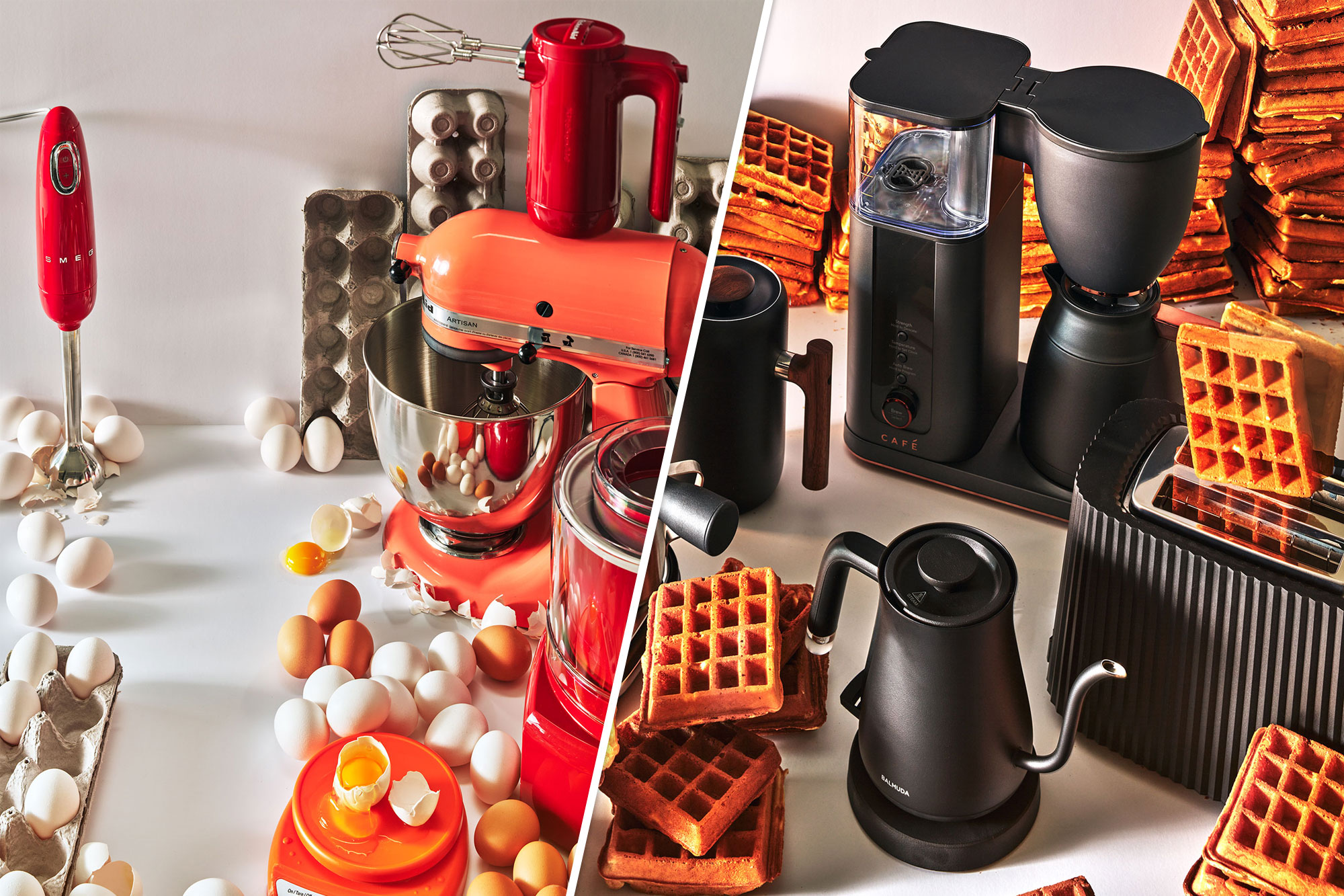 Appliances for baking and breakfast