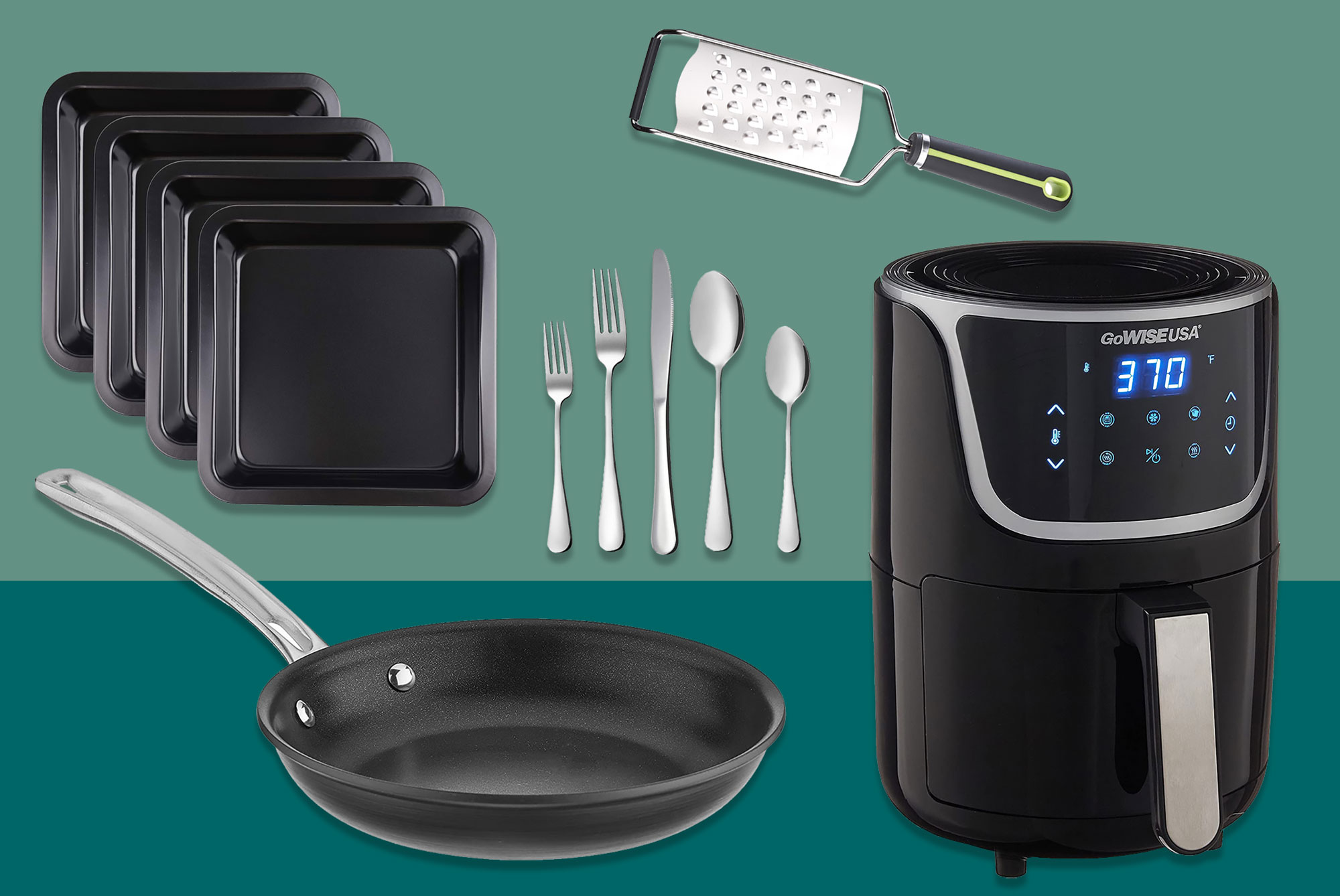 Various kitchen tools and appliances available from Amazon
