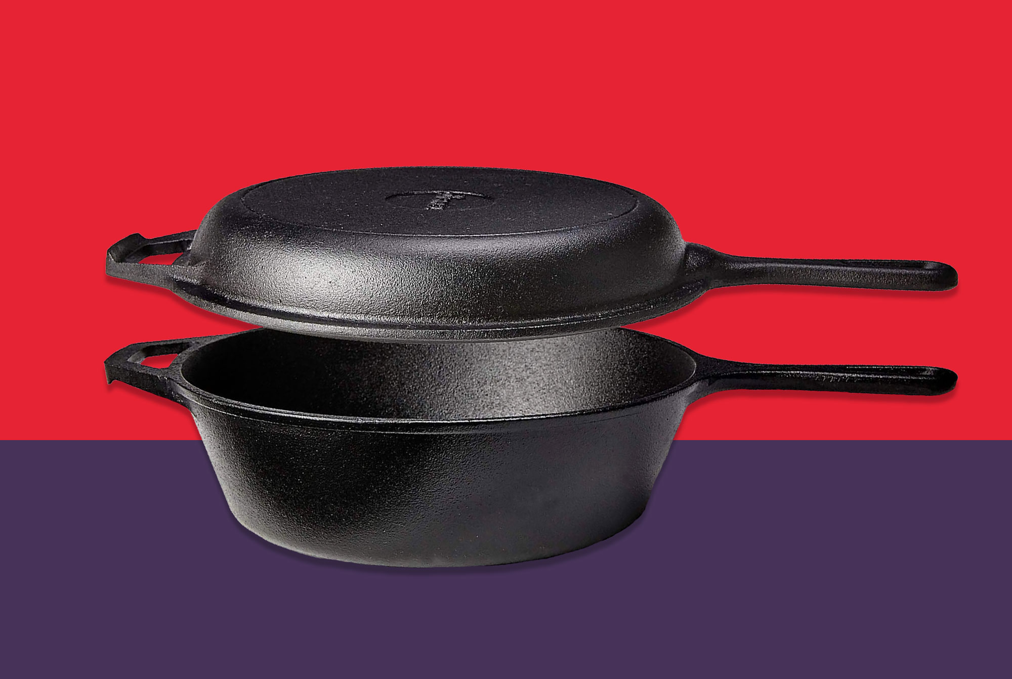 Cuisinel Cast Iron Skillet and Lid