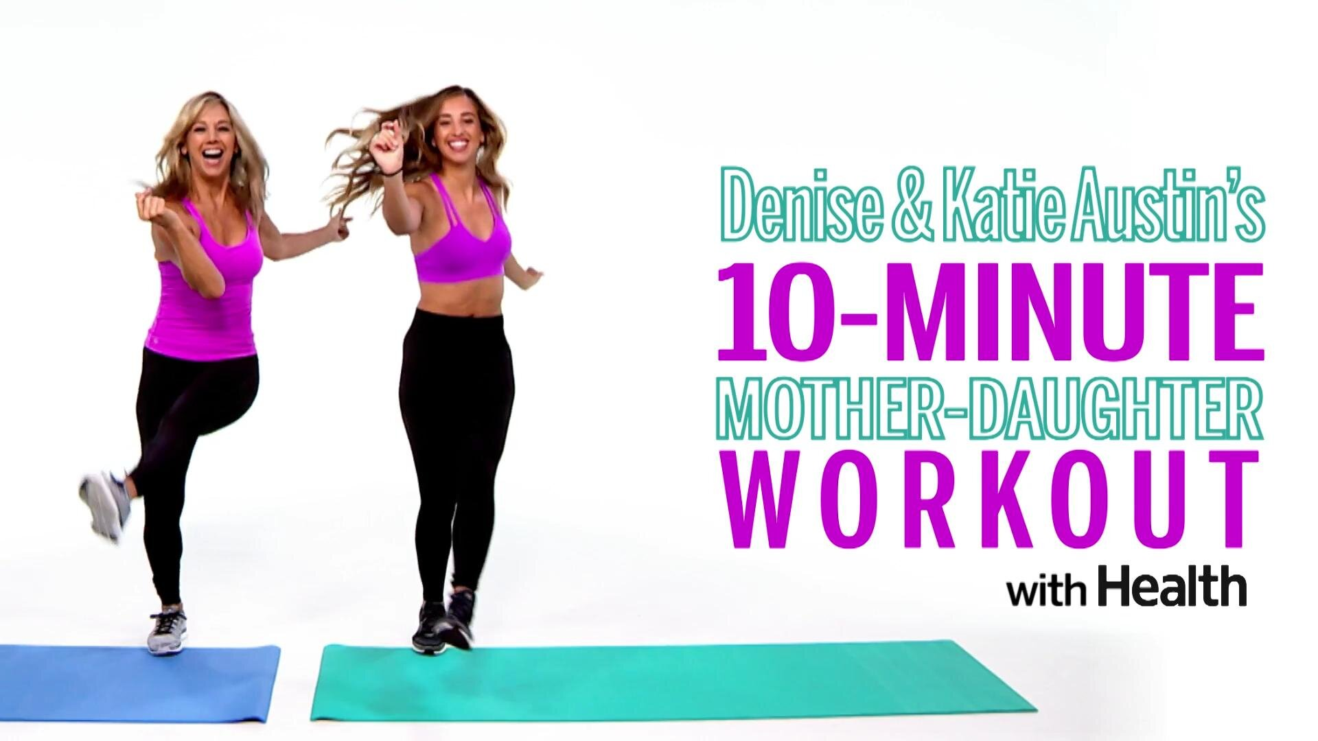 The 10-minute partner workout