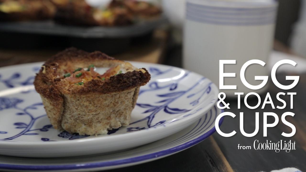 Kale, Swiss, and Shiitake Toast Recipe   Cooking Light