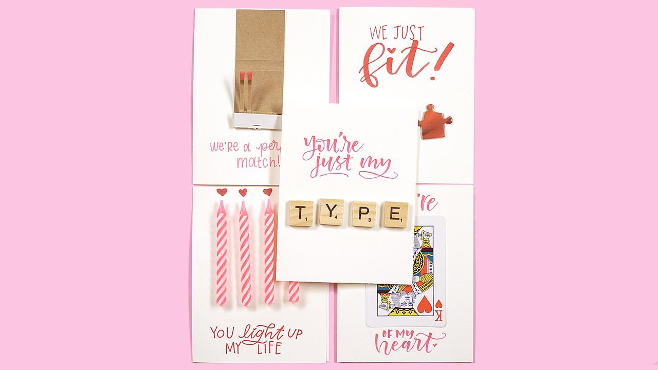 Watch 5 Adorable Valentine's Day Cards Made from Everyday Items
