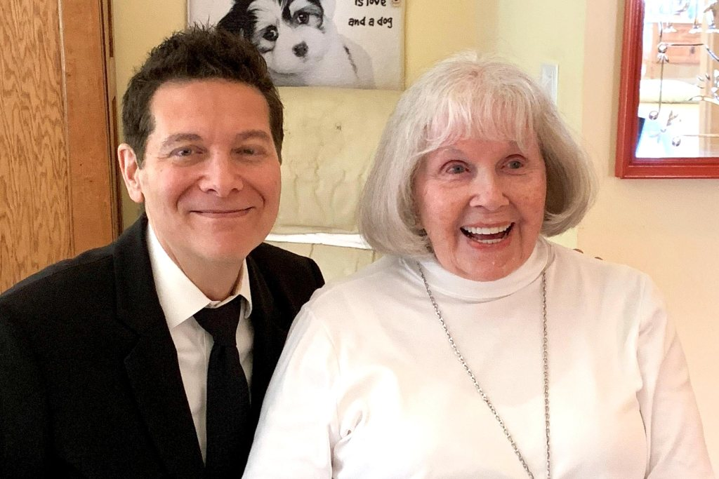 Michael Feinstein and Doris Day CR: Michael Feinstein