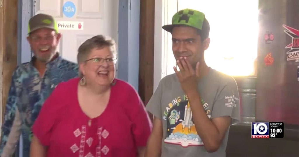 30-Year-old Man Treated to First Birthday Party