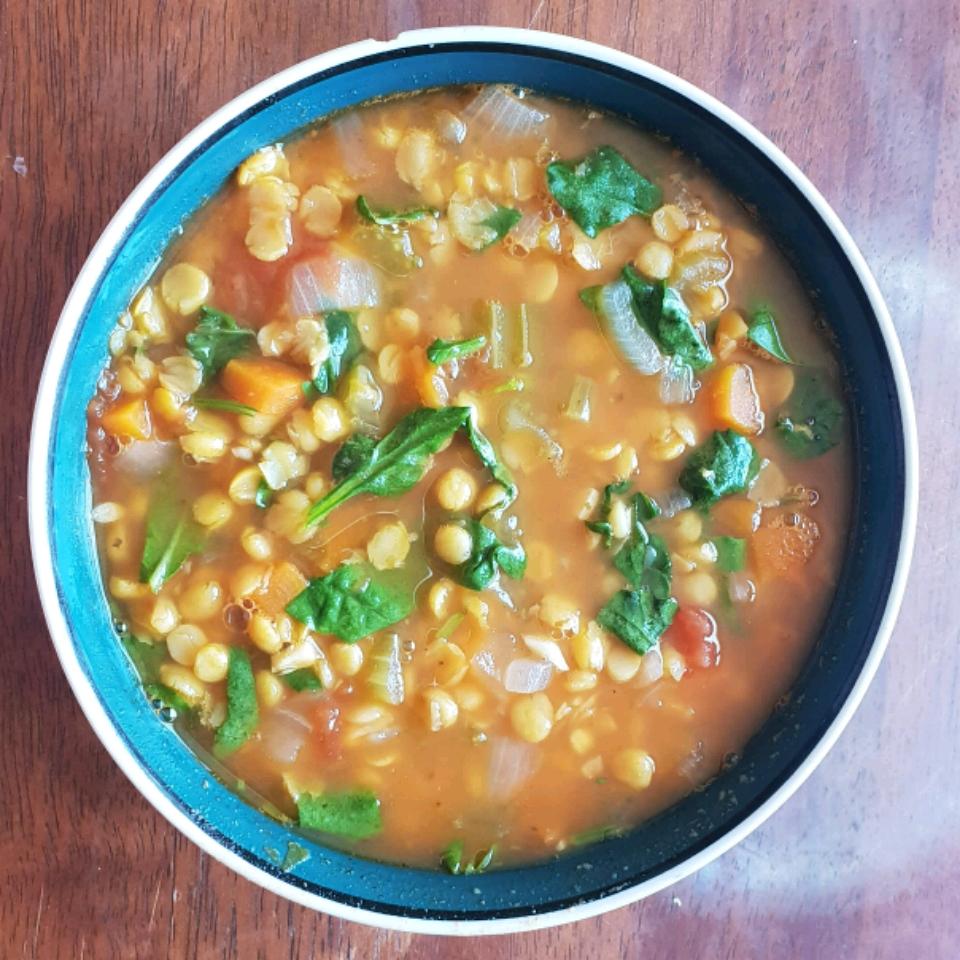 Resep Sop Lentil : Easy Vegan Lentil Tomato Soup Running ...