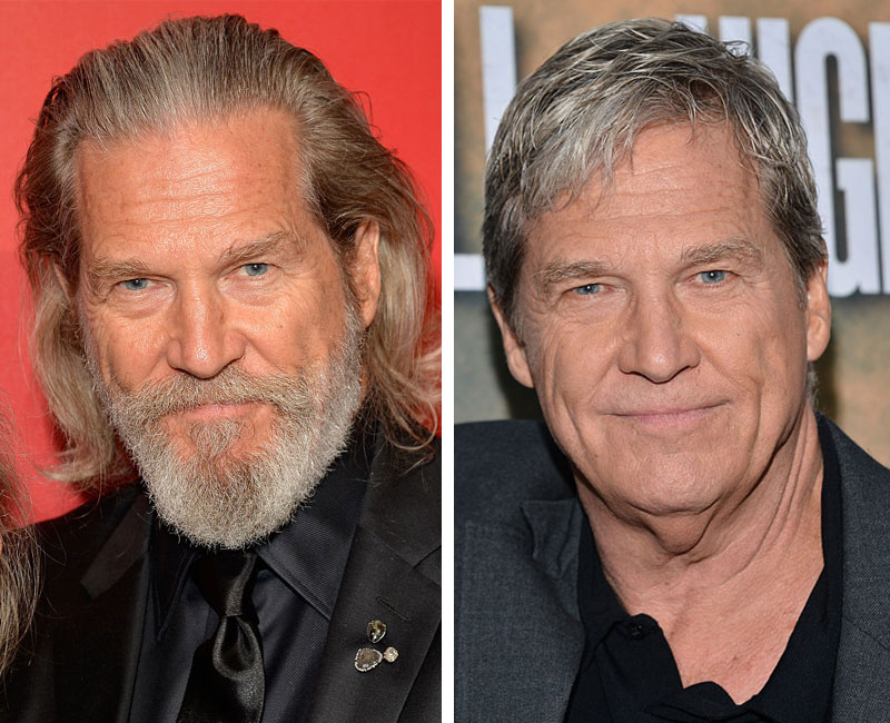 Jeff Bridges shaved his beard for the first time in ...