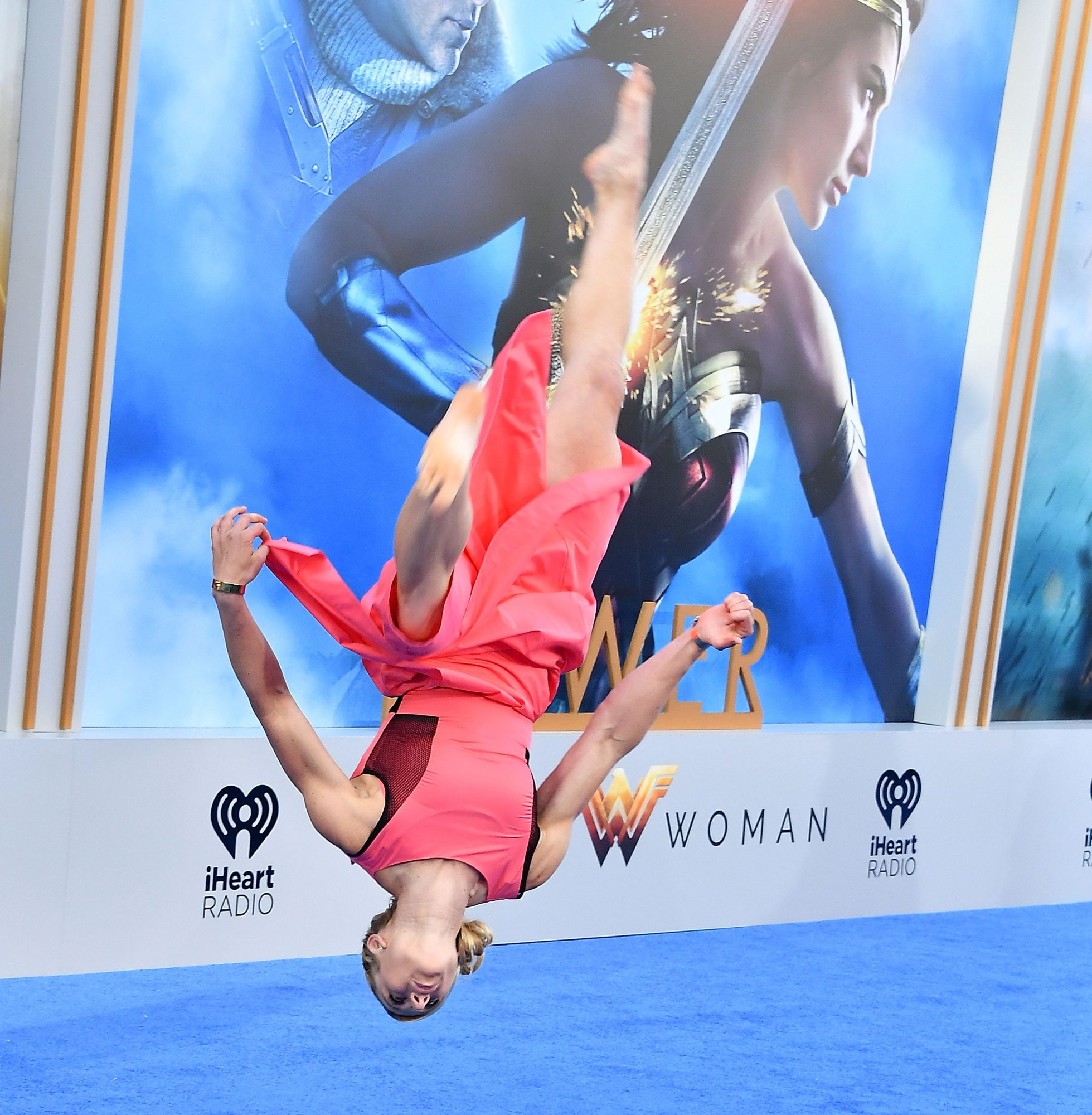 Jessie Graff is a stunt woman, a black belt and American