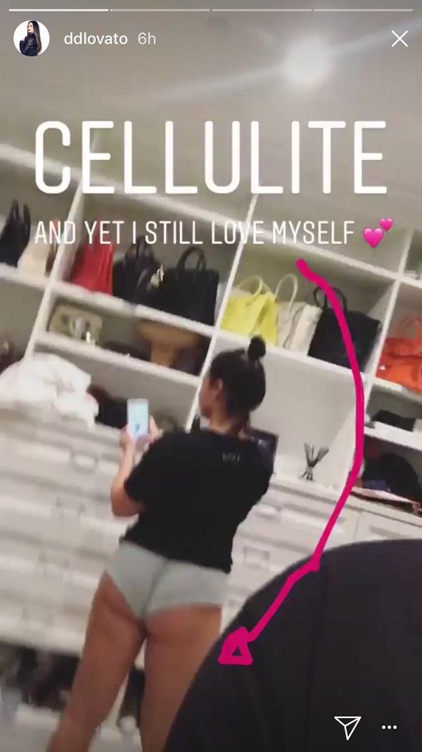 Demi Lovato Cellulite