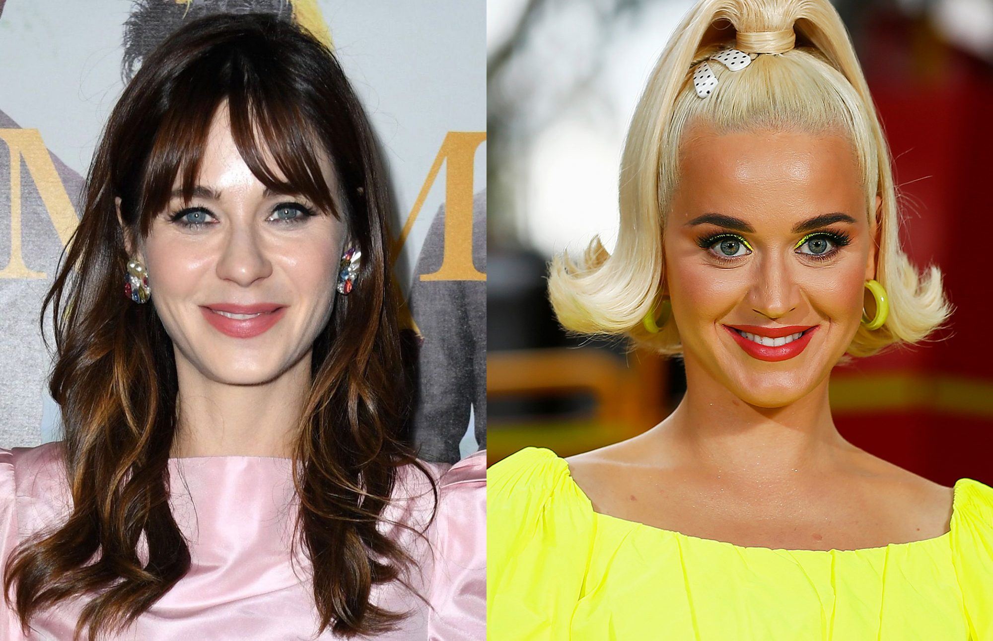 Katy Perry Admits She Used to Pretend to Be Zooey ...