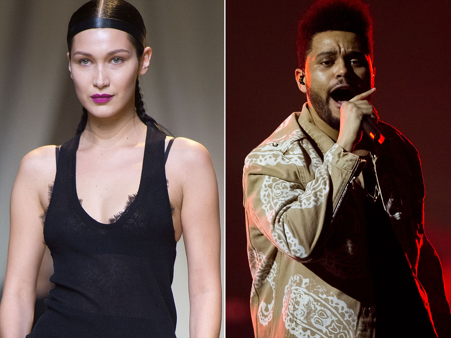 The Weeknd Reunites With Ex-Girlfriend Bella Hadid For