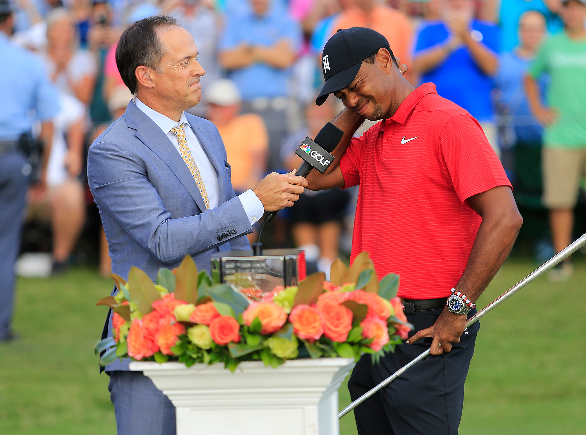 Tiger Woods on Comeback Victory: 'I Just Can't Believe I ...
