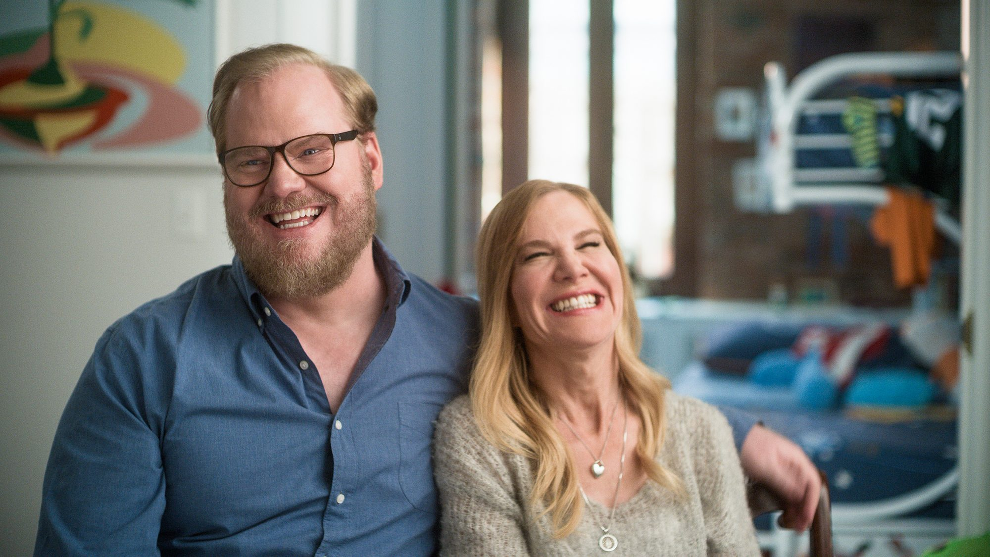 Jim Gaffigan and Wife Jeannie Reveal How Humor Helped Them