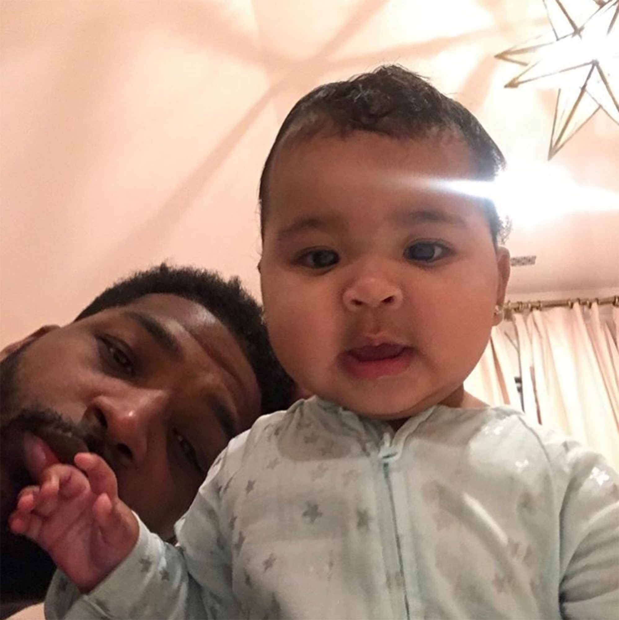 Tristan Thompson Wishes Daughter True a Happy First ...