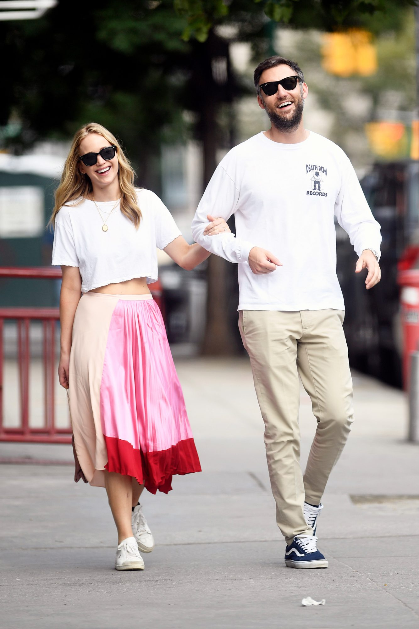 Jennifer Lawrence and Cooke Maroney Step Out Together For