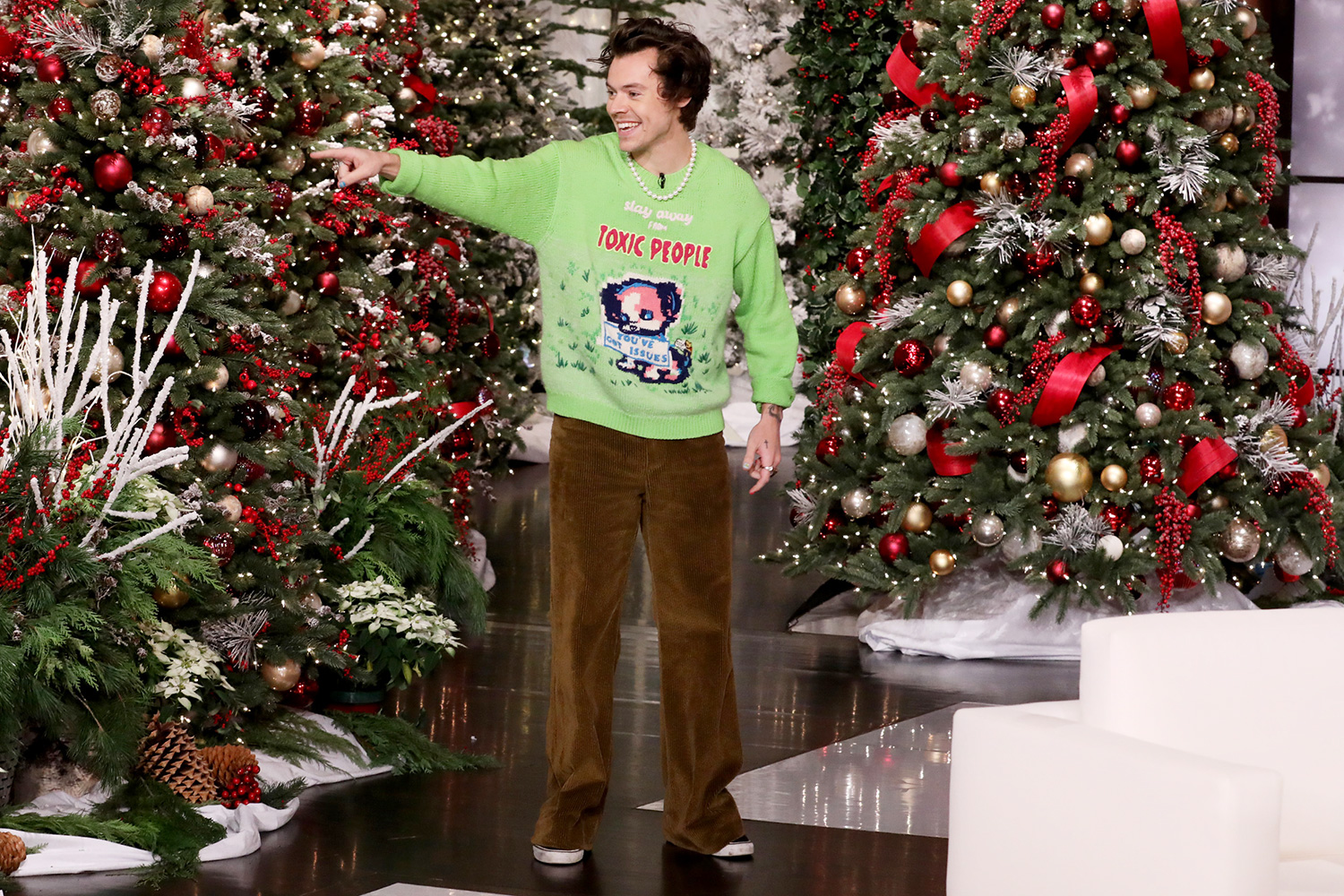 Harry Styles explains the process of going naked for his