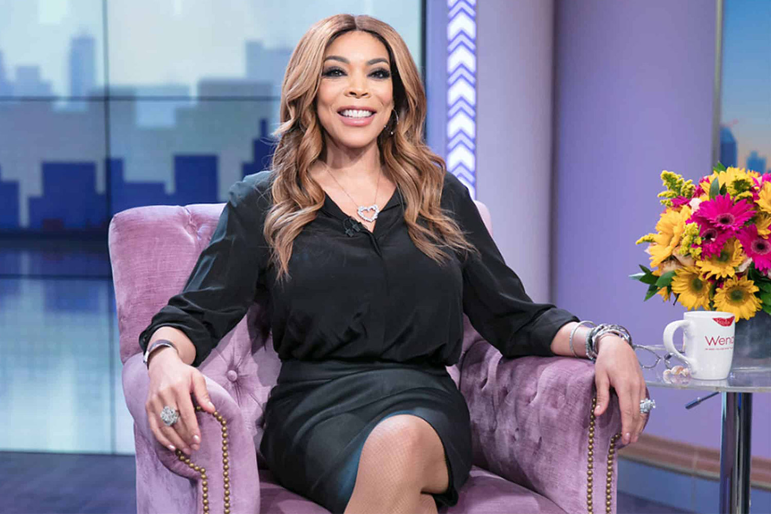 Wendy Williams Admits She Spies on Her Neighbor   PEOPLE.com
