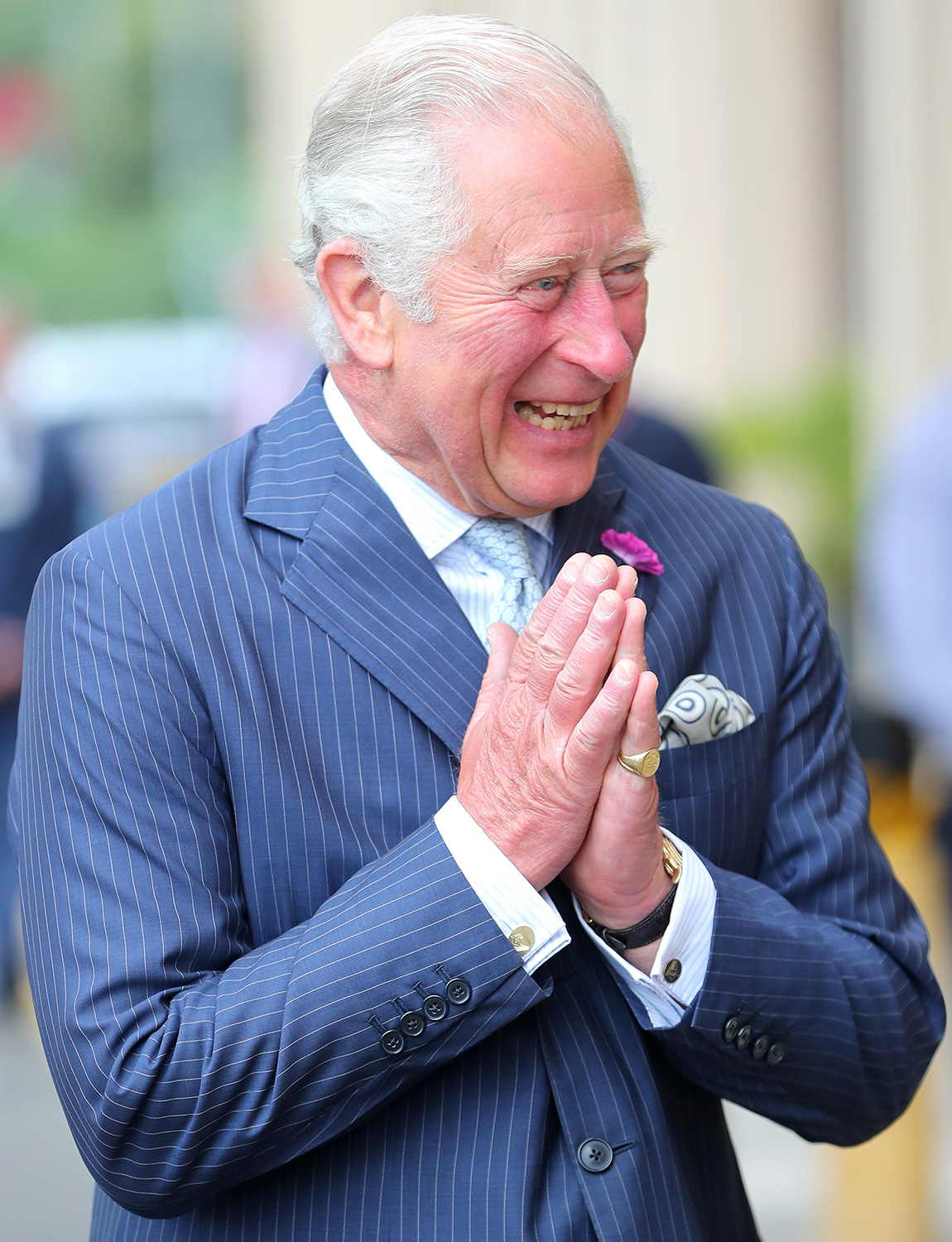 Prince Charles Has Never Looked So Happy to Be Back to ...