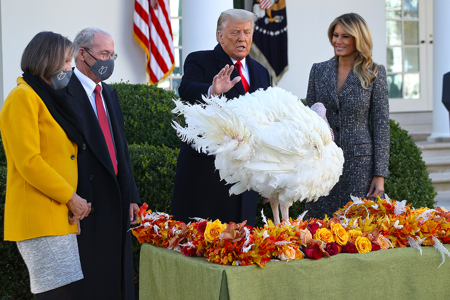 Donald Trump Pardons His Final Turkey | PEOPLE.com