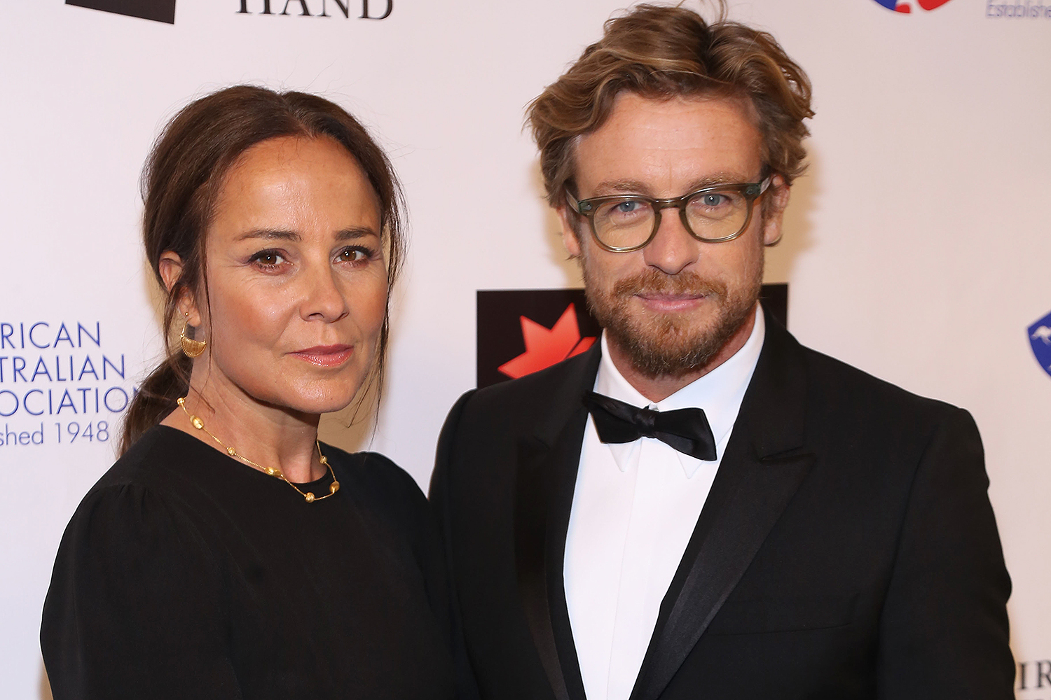 Simon Baker and Wife Rebecca Rigg Split After 29 Years of ...
