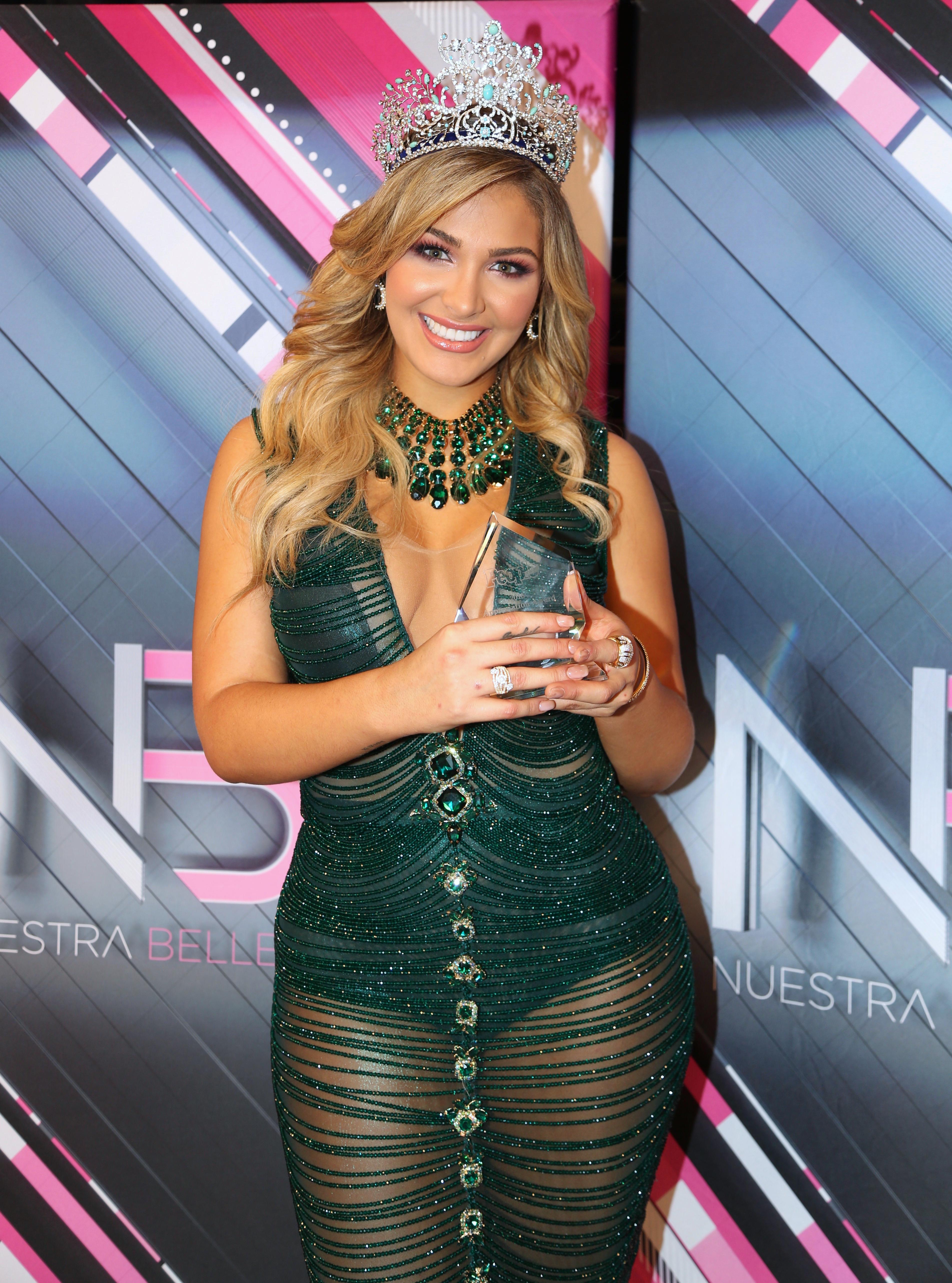 La reina de Nuestra Belleza Latina 2018   People en Español