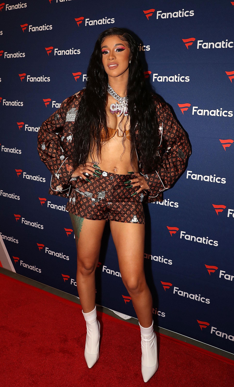 Cardi B No Clothing: Cardi B Says Kulture Wears Target PJs Because 'She Just