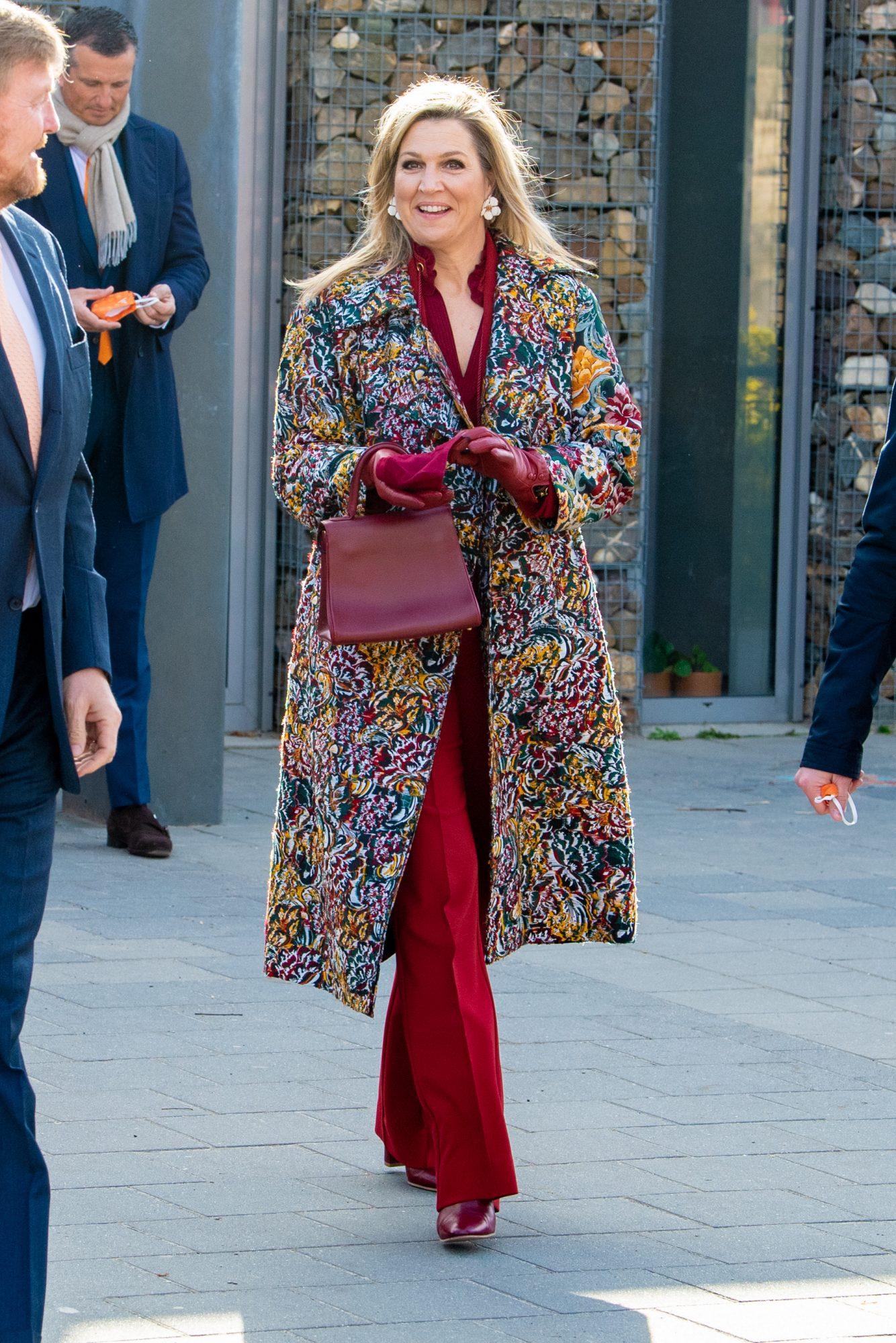 Llega la primavera al traje de la reina Máxima de Holanda