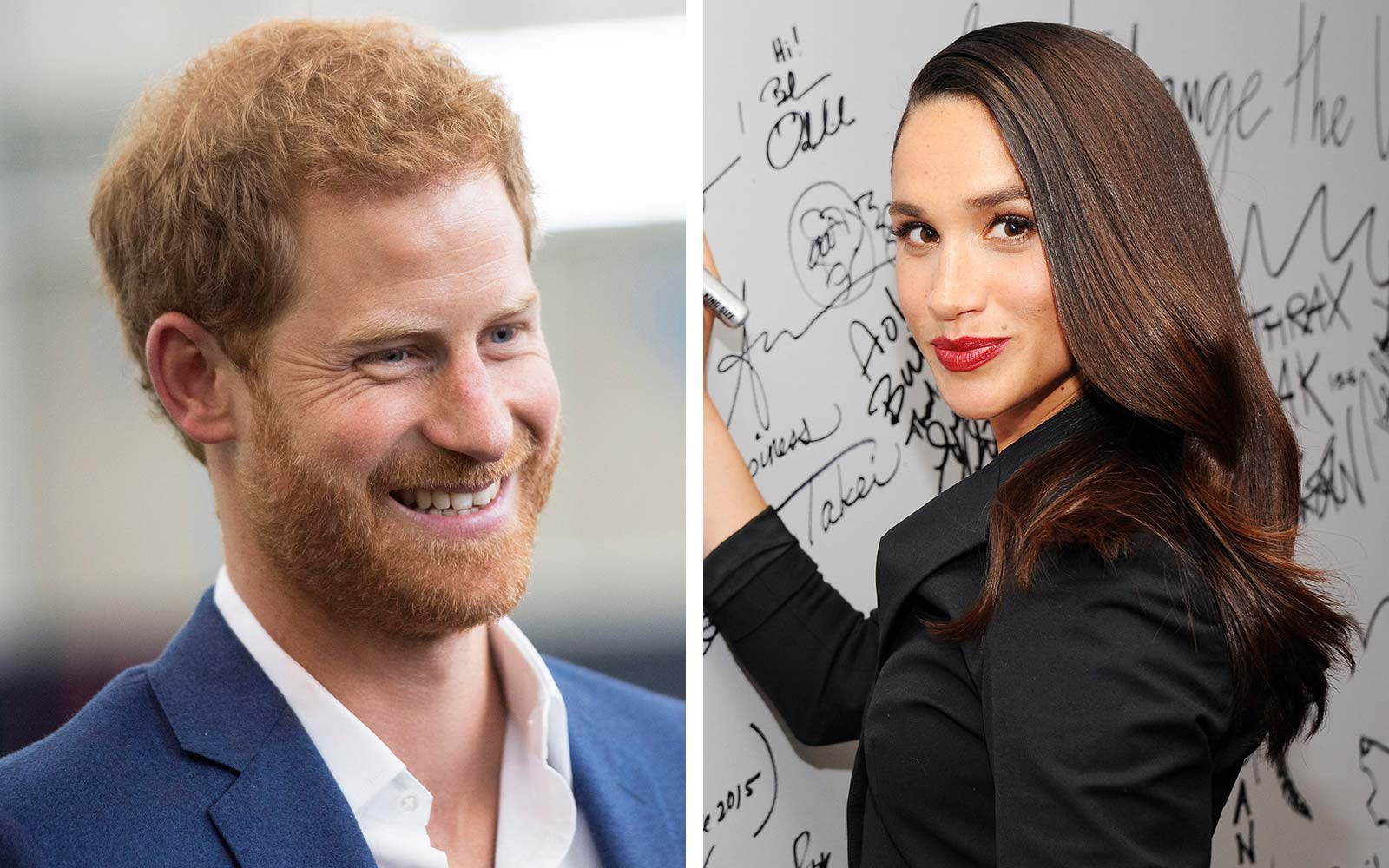 WATCH: Prince Harry and Meghan Markle make first public