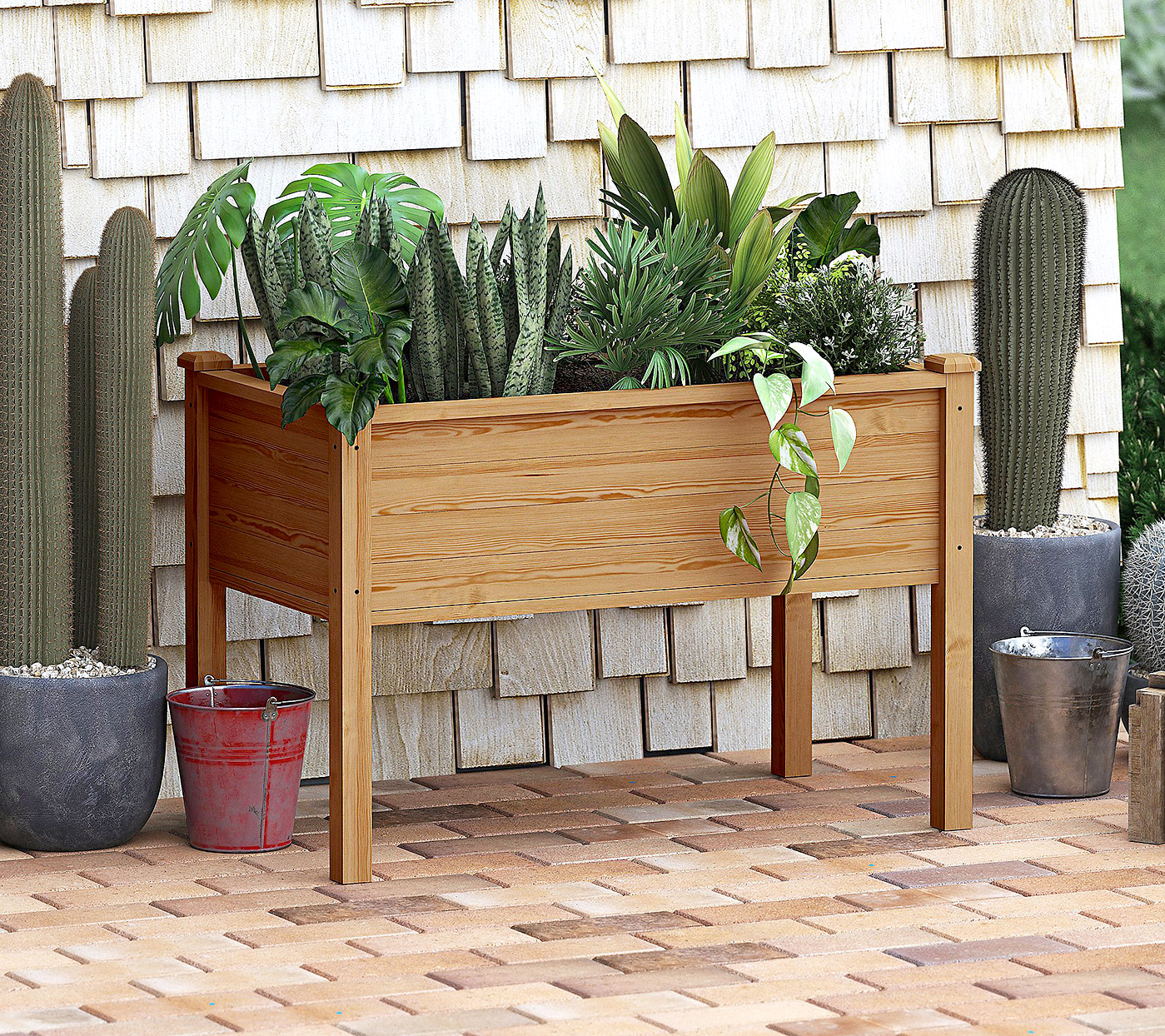 The Best Raised Garden Beds to Buy Right Now | Martha Stewart on Simple Small Backyard Ideas id=44924