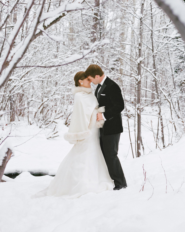 A Winter Wonderland Destination Wedding In Colorado