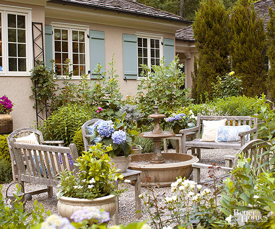 Gravel Patios | Better Homes & Gardens on Patio And Gravel Ideas id=93713