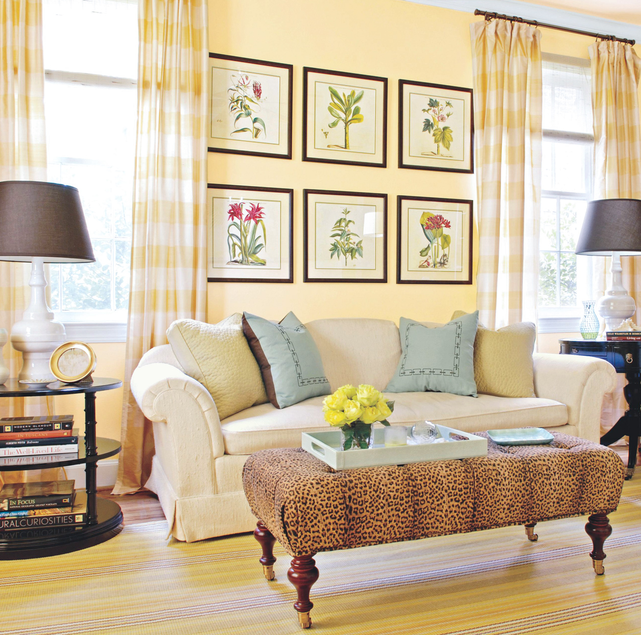 23 yellow living room ideas for a bright happy space