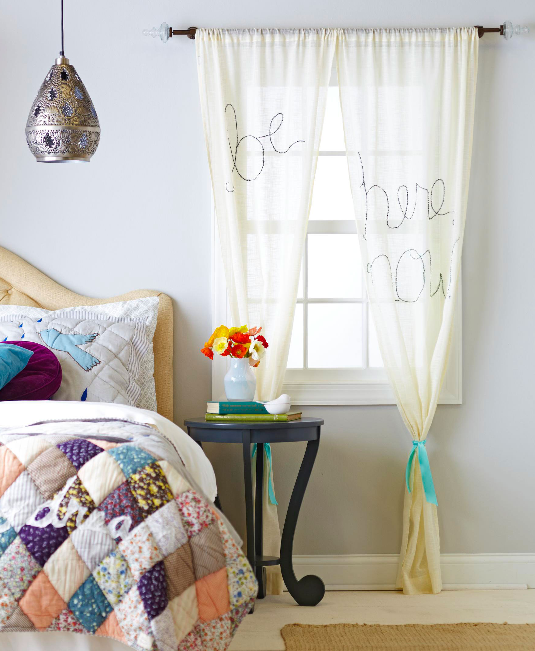 15 DIY Curtain Makeovers